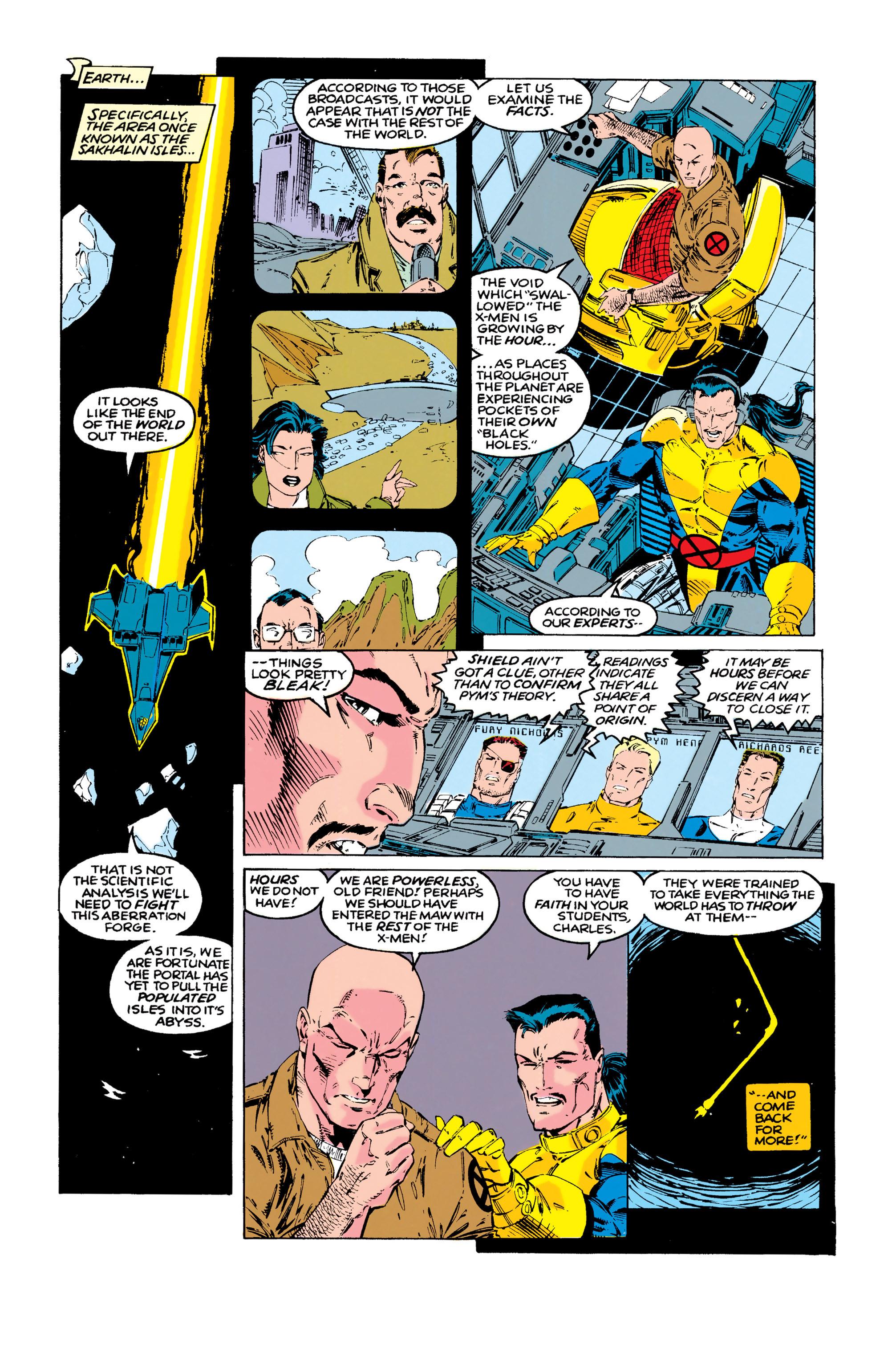 Read online Uncanny X-Men (1963) comic -  Issue #286 - 8