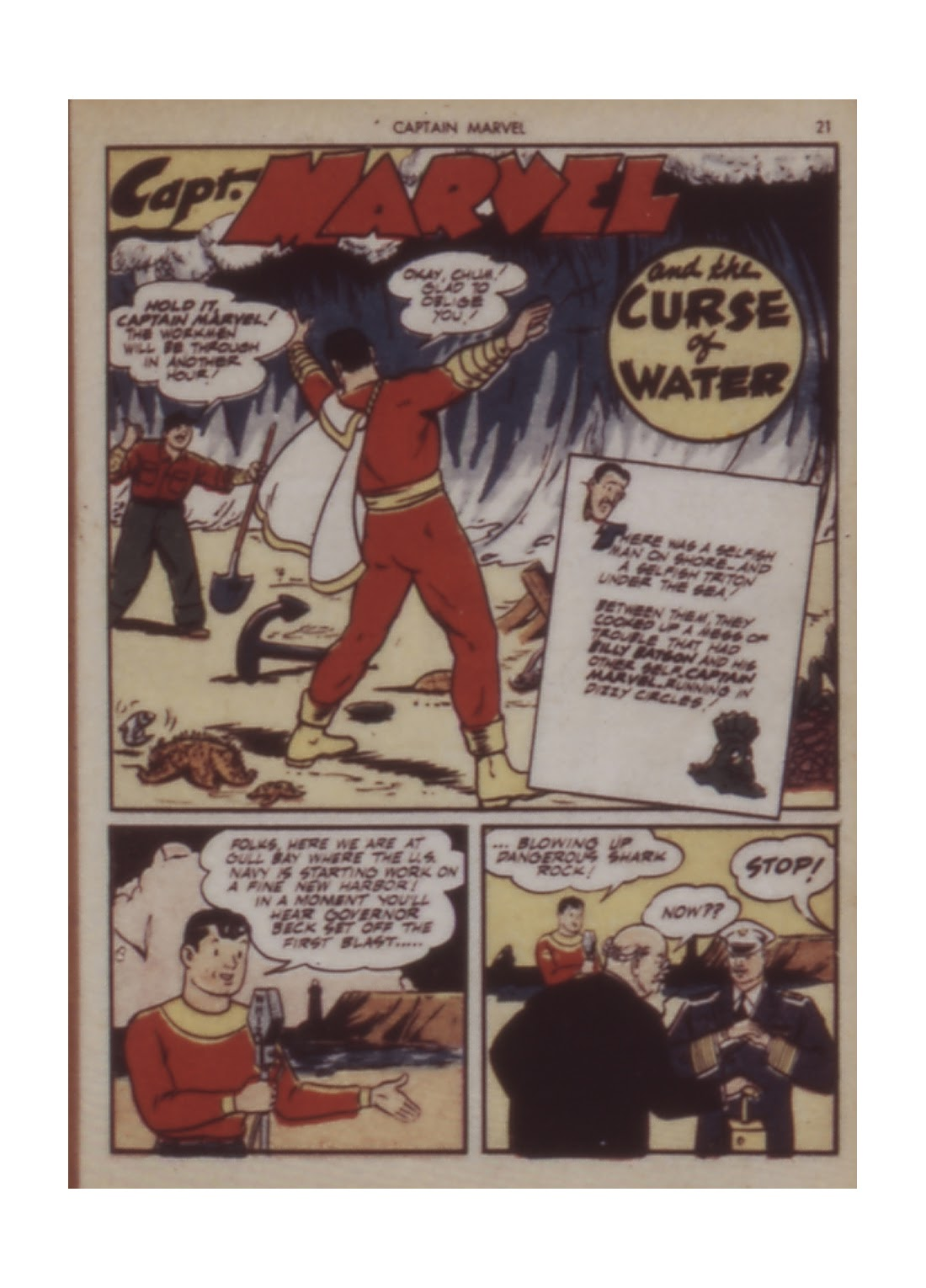Captain Marvel Adventures issue 12 - Page 21