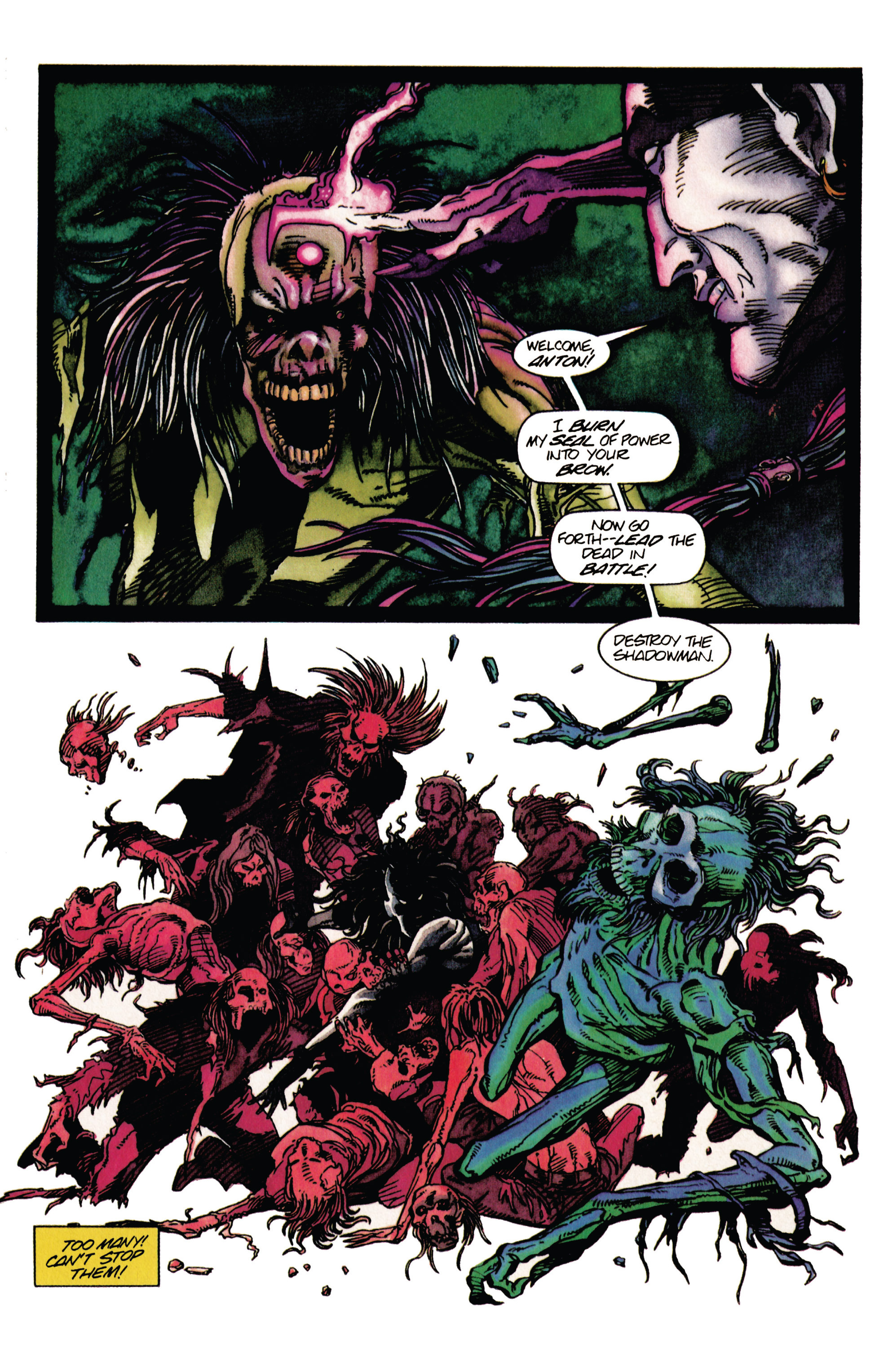 Read online Shadowman (1992) comic -  Issue #29 - 13