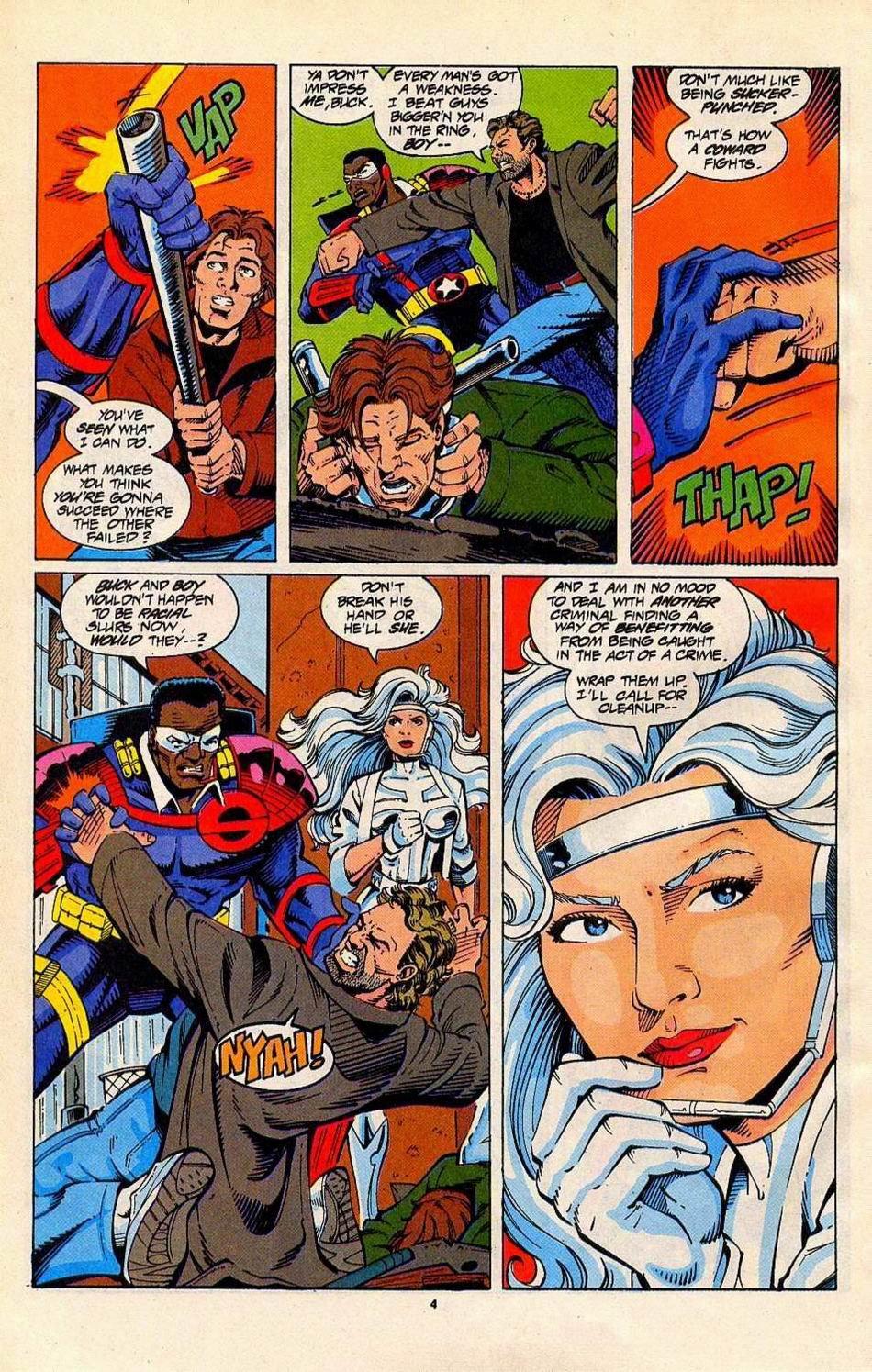 Read online Silver Sable and the Wild Pack comic -  Issue #27 - 5