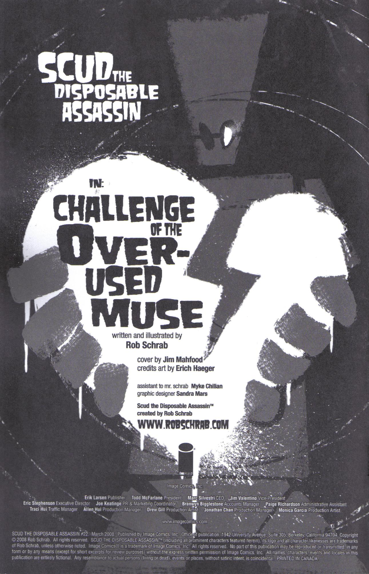 Read online Scud: The Disposable Assassin (2008) comic -  Issue #2 - 2