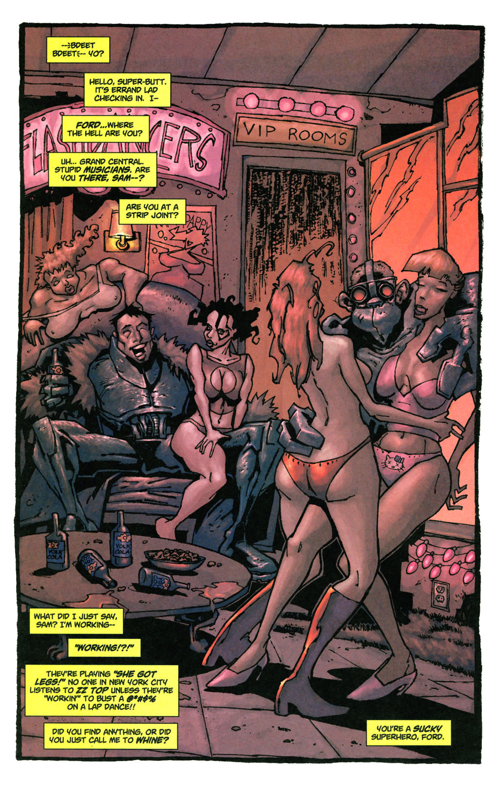 Read online Enginehead comic -  Issue #4 - 7