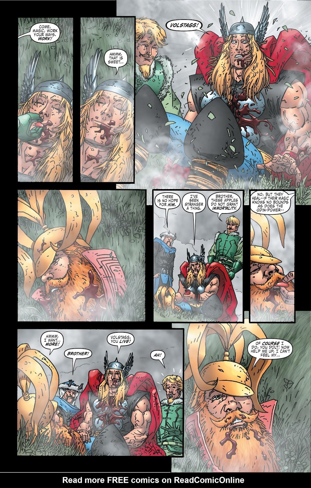 Read online Thor: Ragnaroks comic -  Issue # TPB (Part 2) - 2