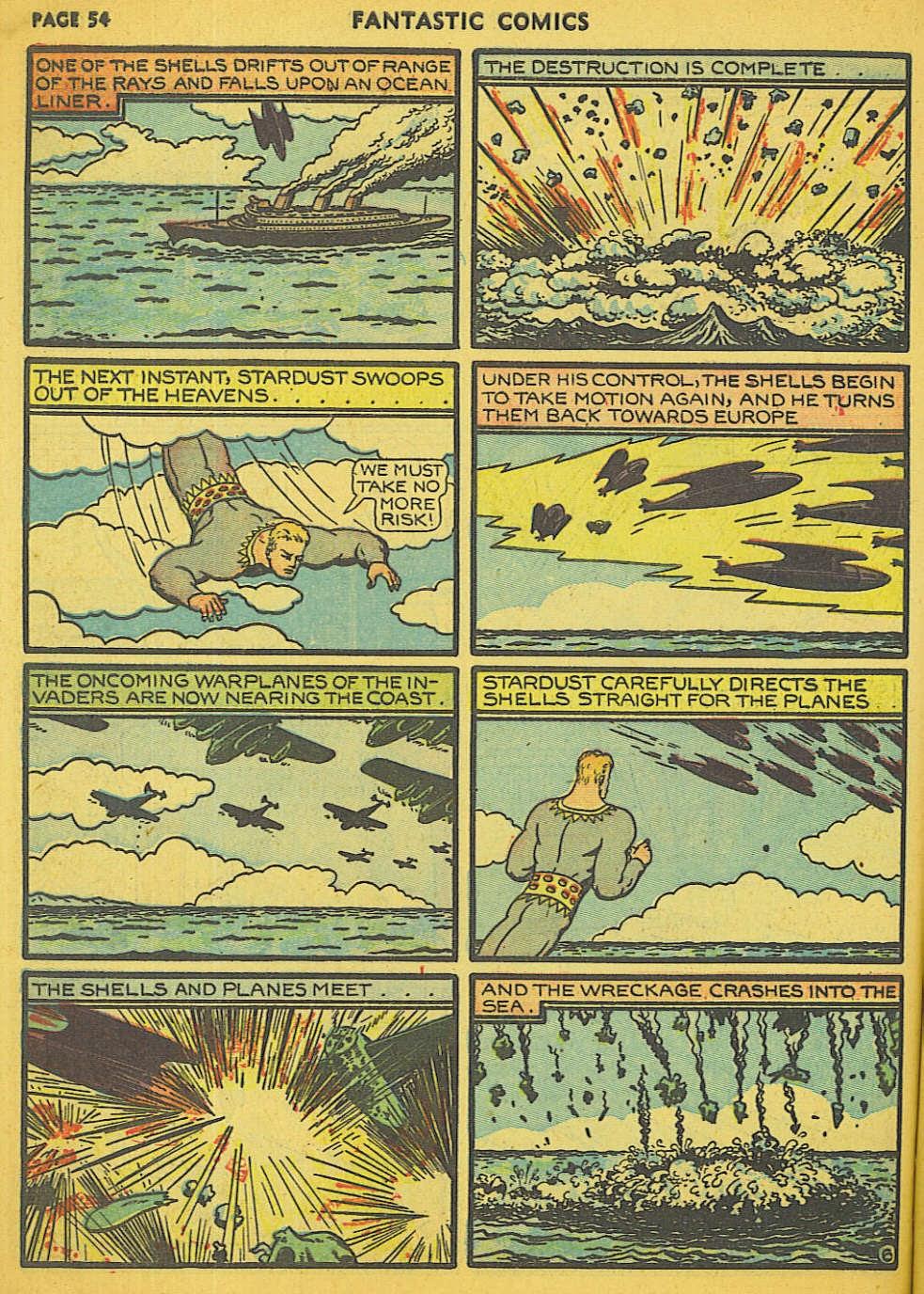 Read online Fantastic Comics comic -  Issue #15 - 49