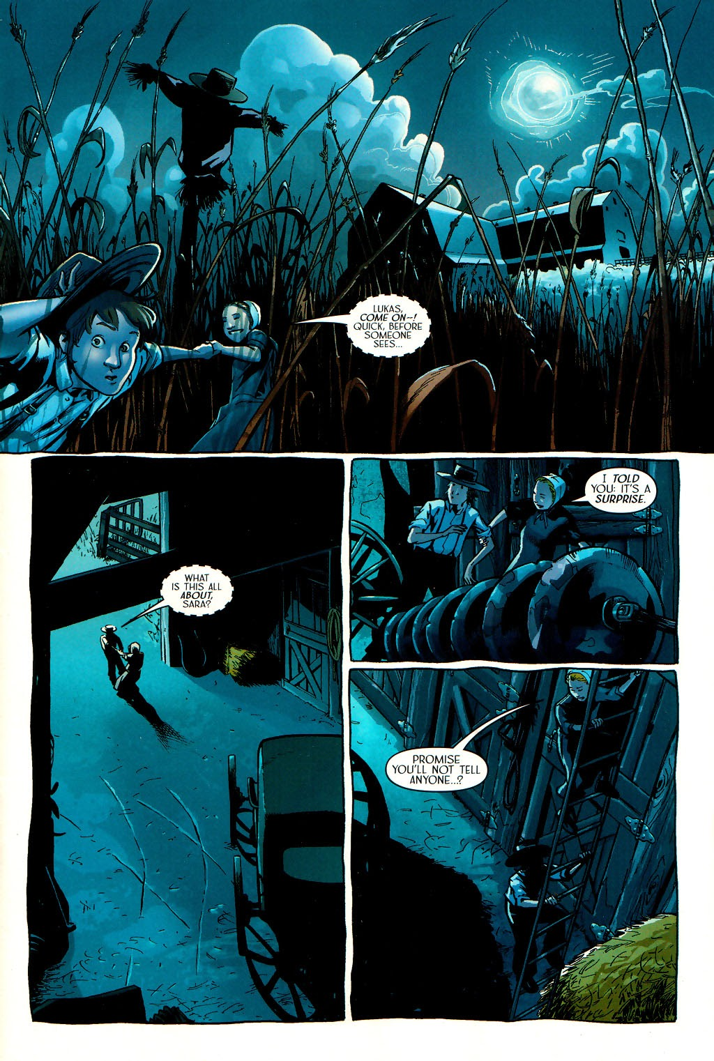 Read online Route 666 comic -  Issue #16 - 3
