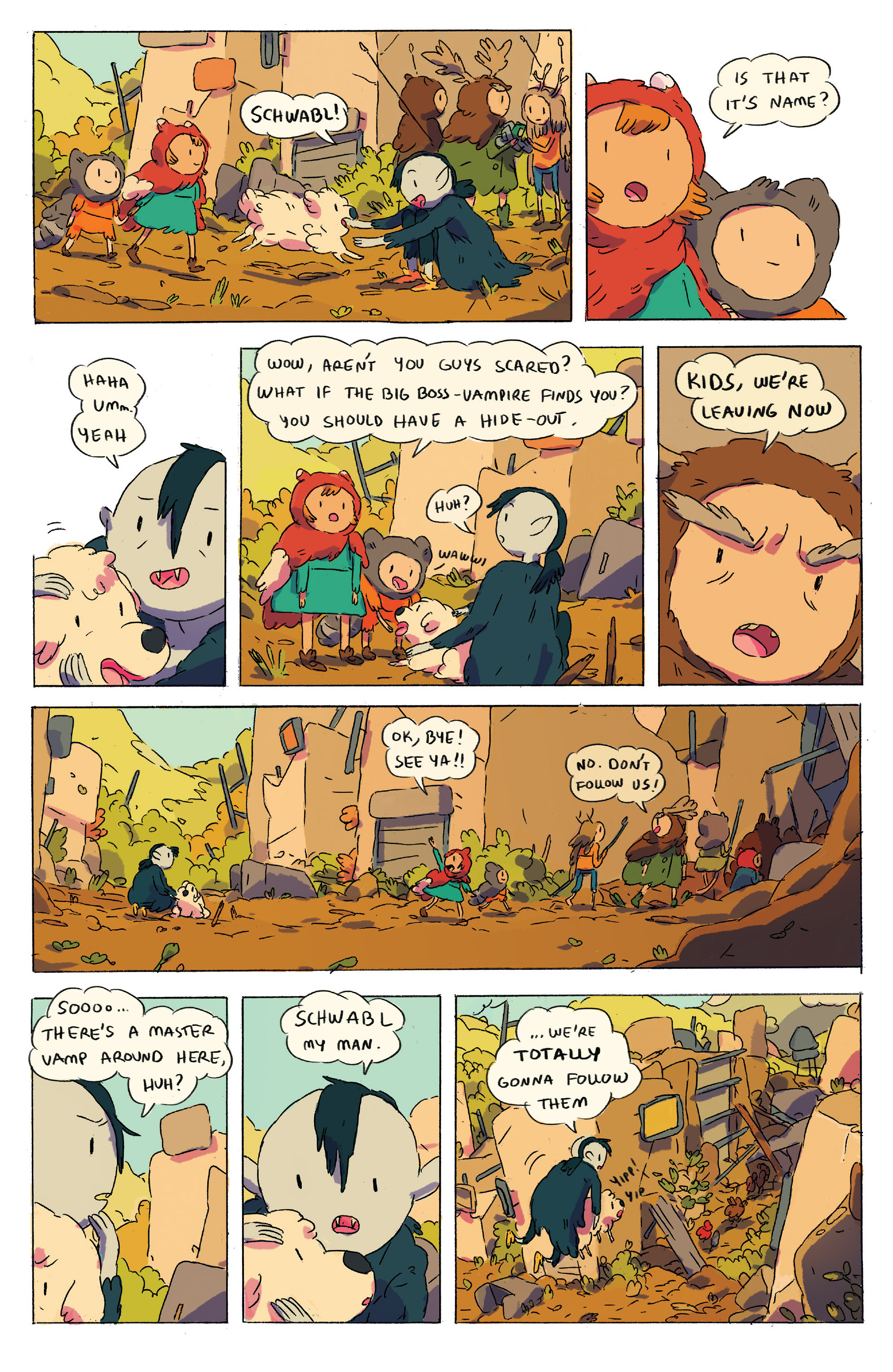 Read online Adventure Time comic -  Issue # _2015 Spoooktacular - 11