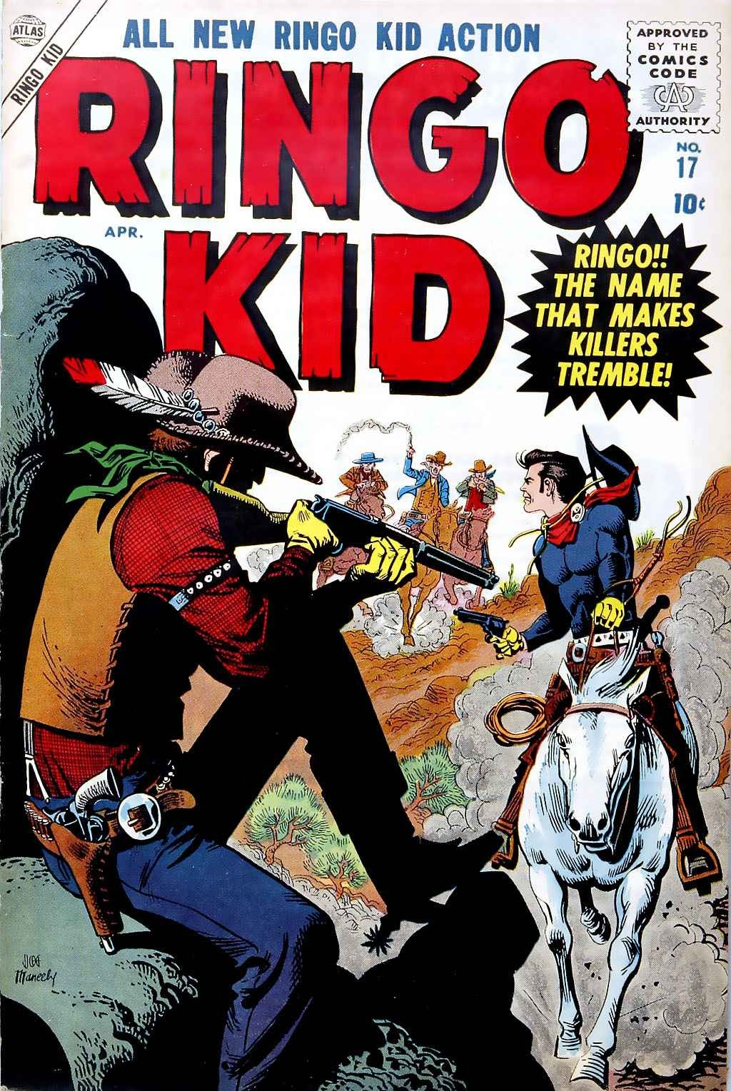 Ringo Kid 17 Page 1