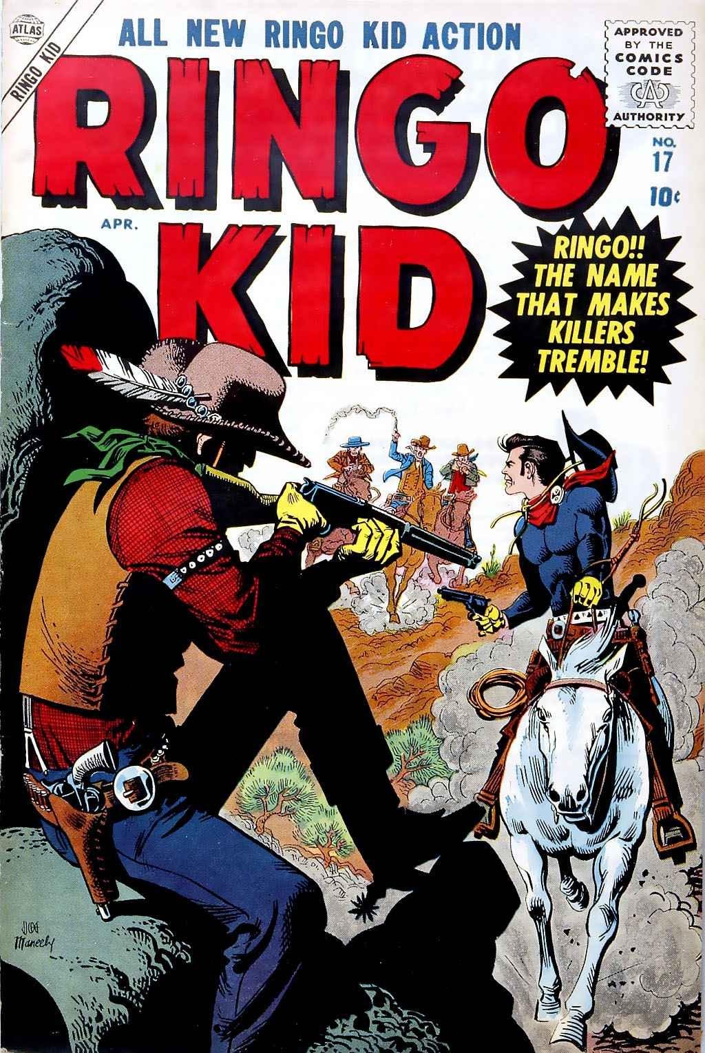 Ringo Kid (1955) 17 Page 1
