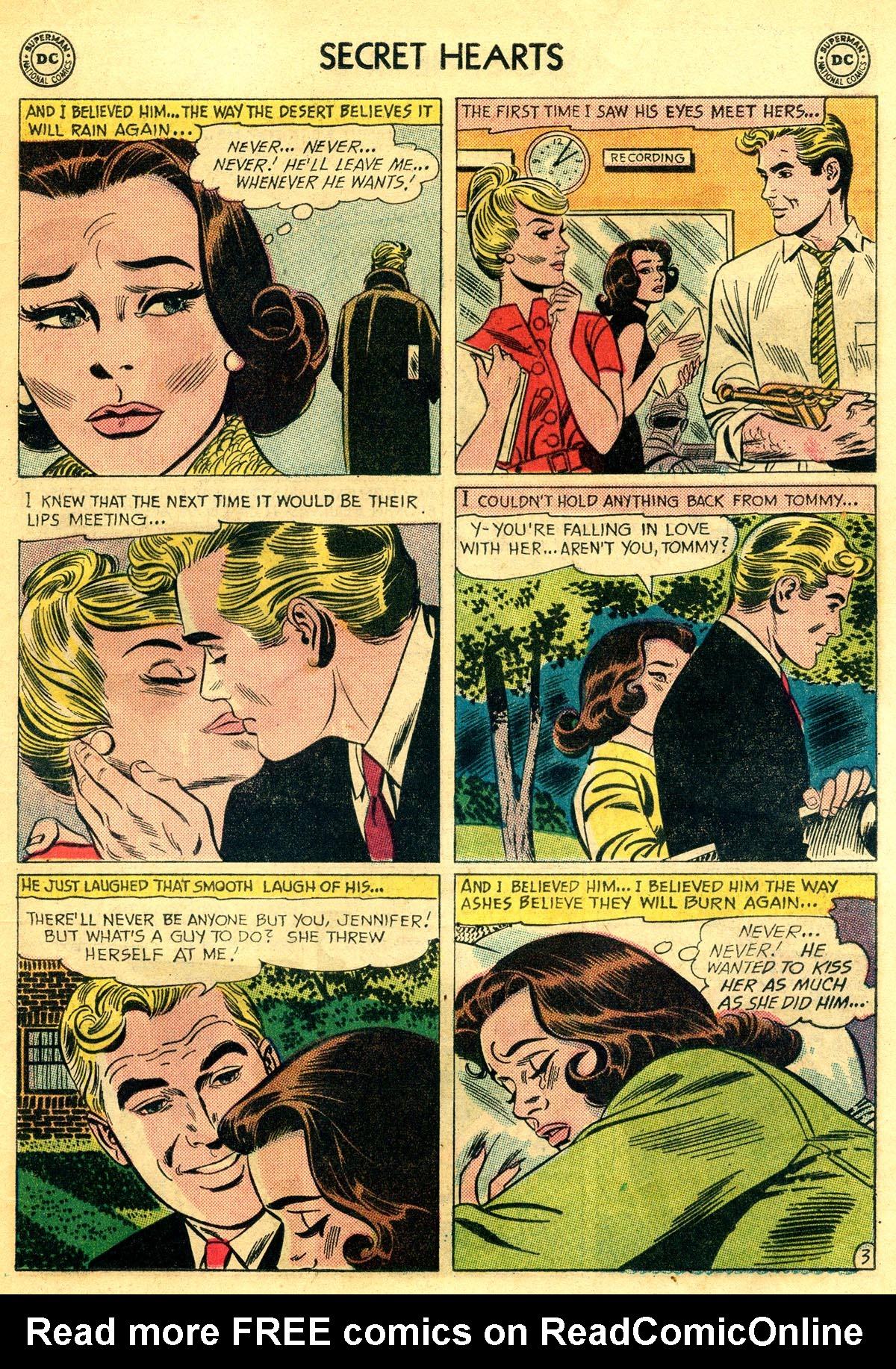 Read online Secret Hearts comic -  Issue #81 - 21