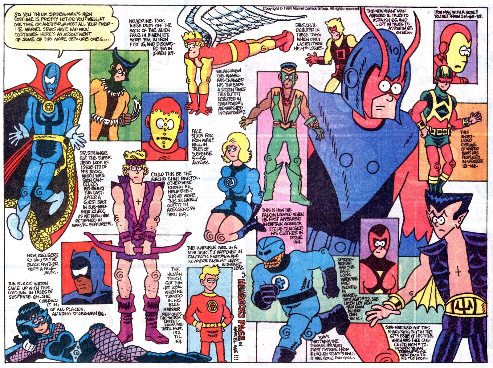 Fred Hembeck Sells the Marvel Universe issue Full - Page 6