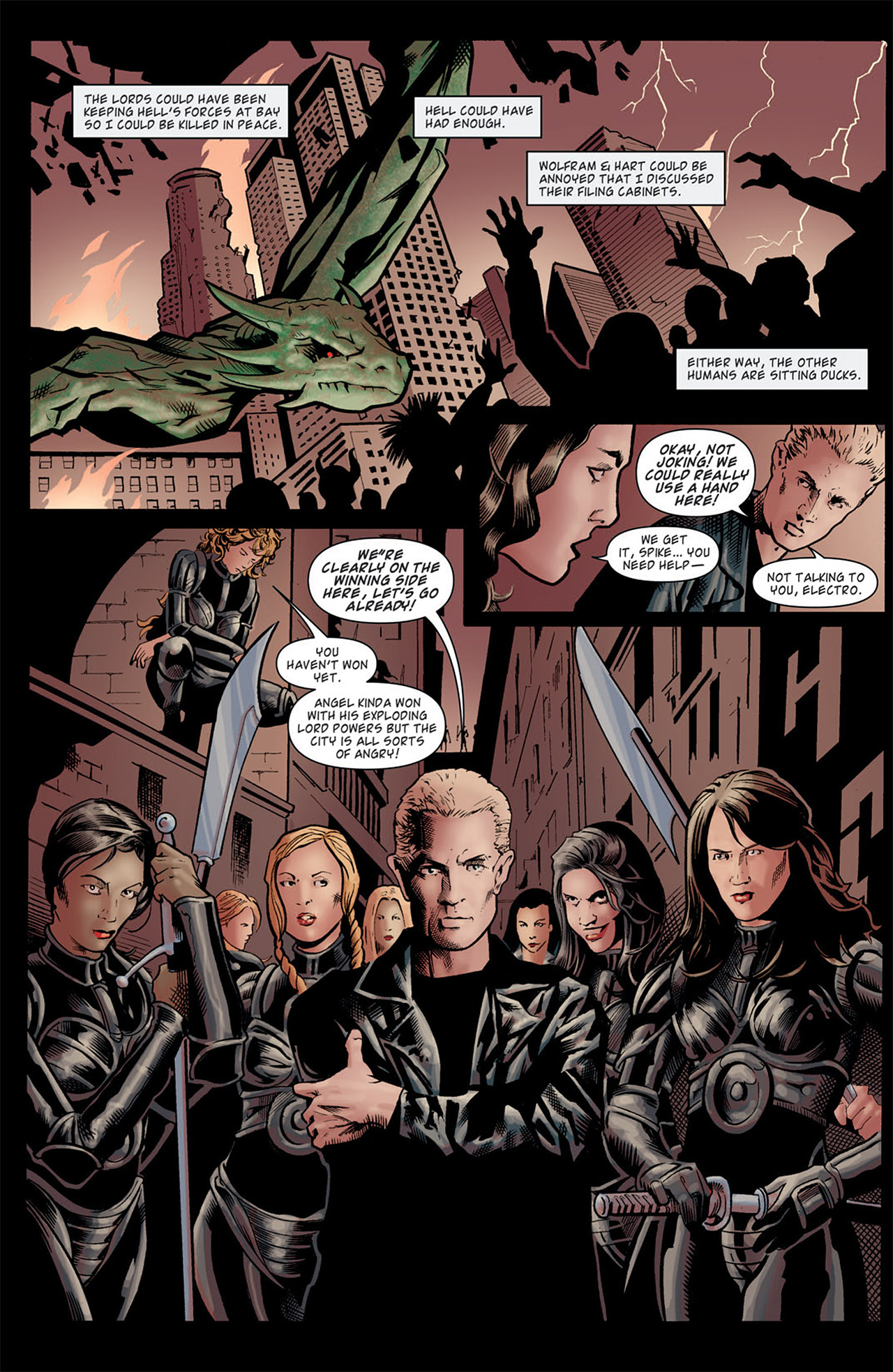 Read online Angel: After The Fall comic -  Issue #9 - 14