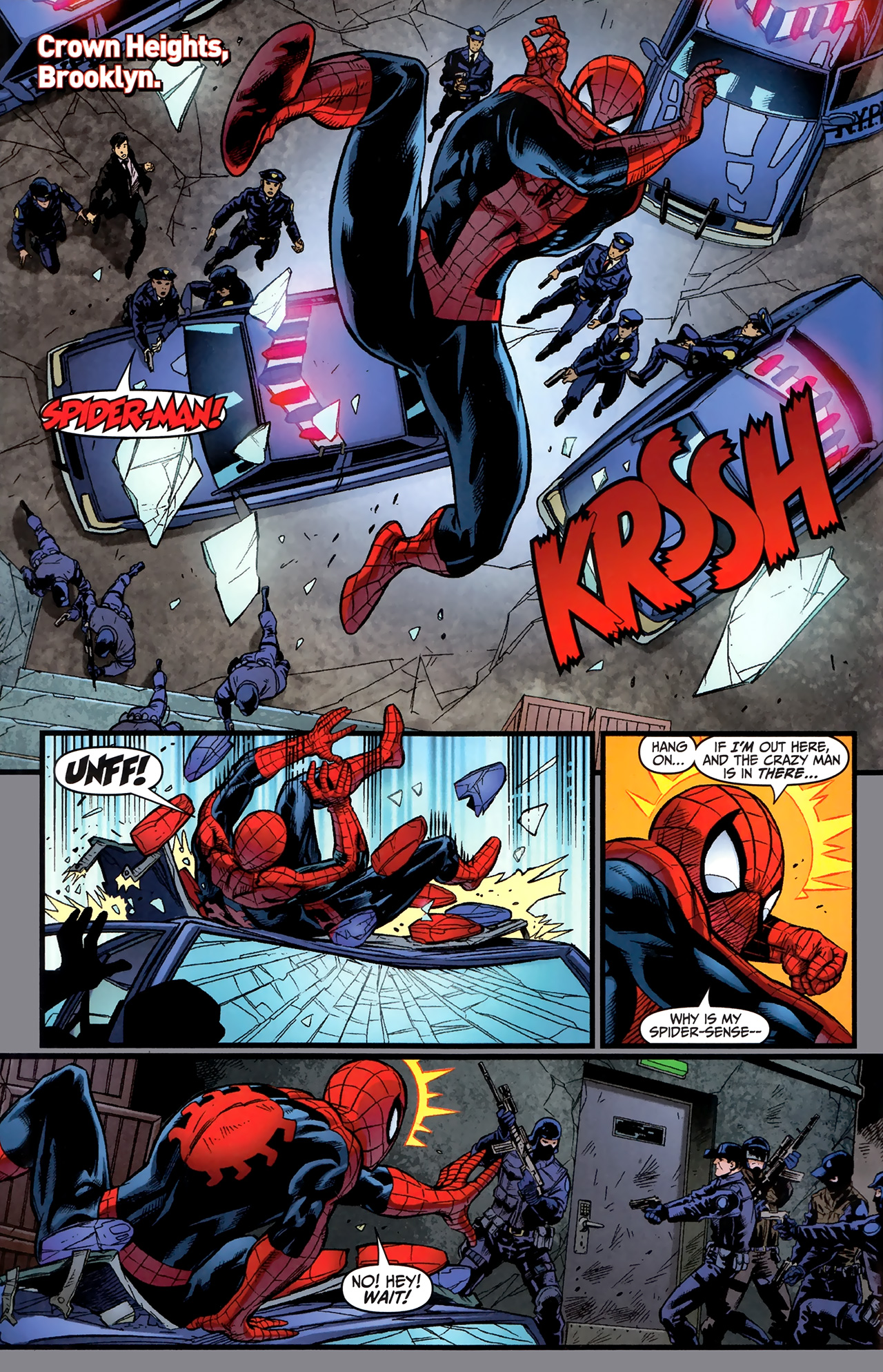 Read online Amazing Spider-Man Presents: American Son comic -  Issue #4 - 3