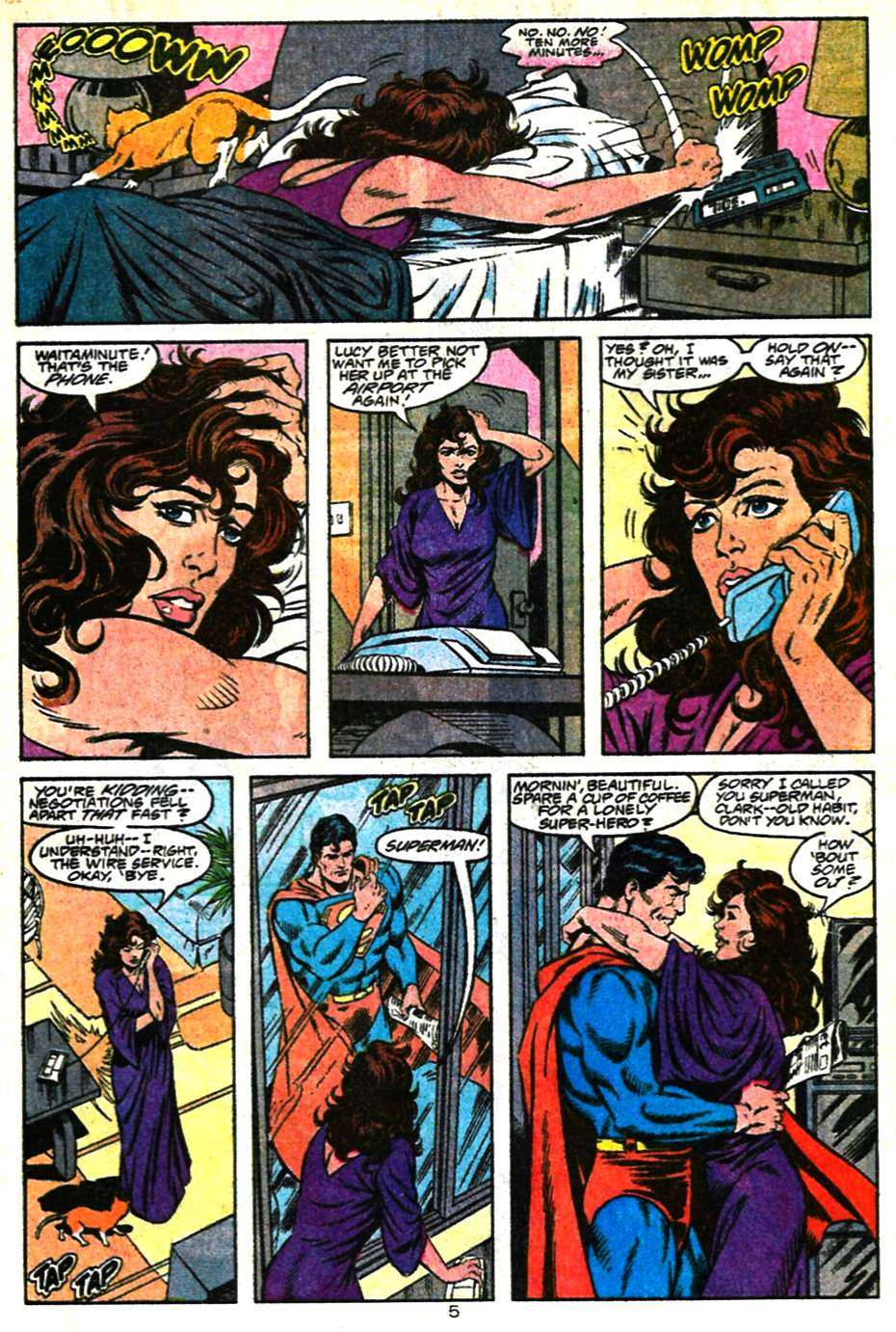 Read online Adventures of Superman (1987) comic -  Issue #482 - 6
