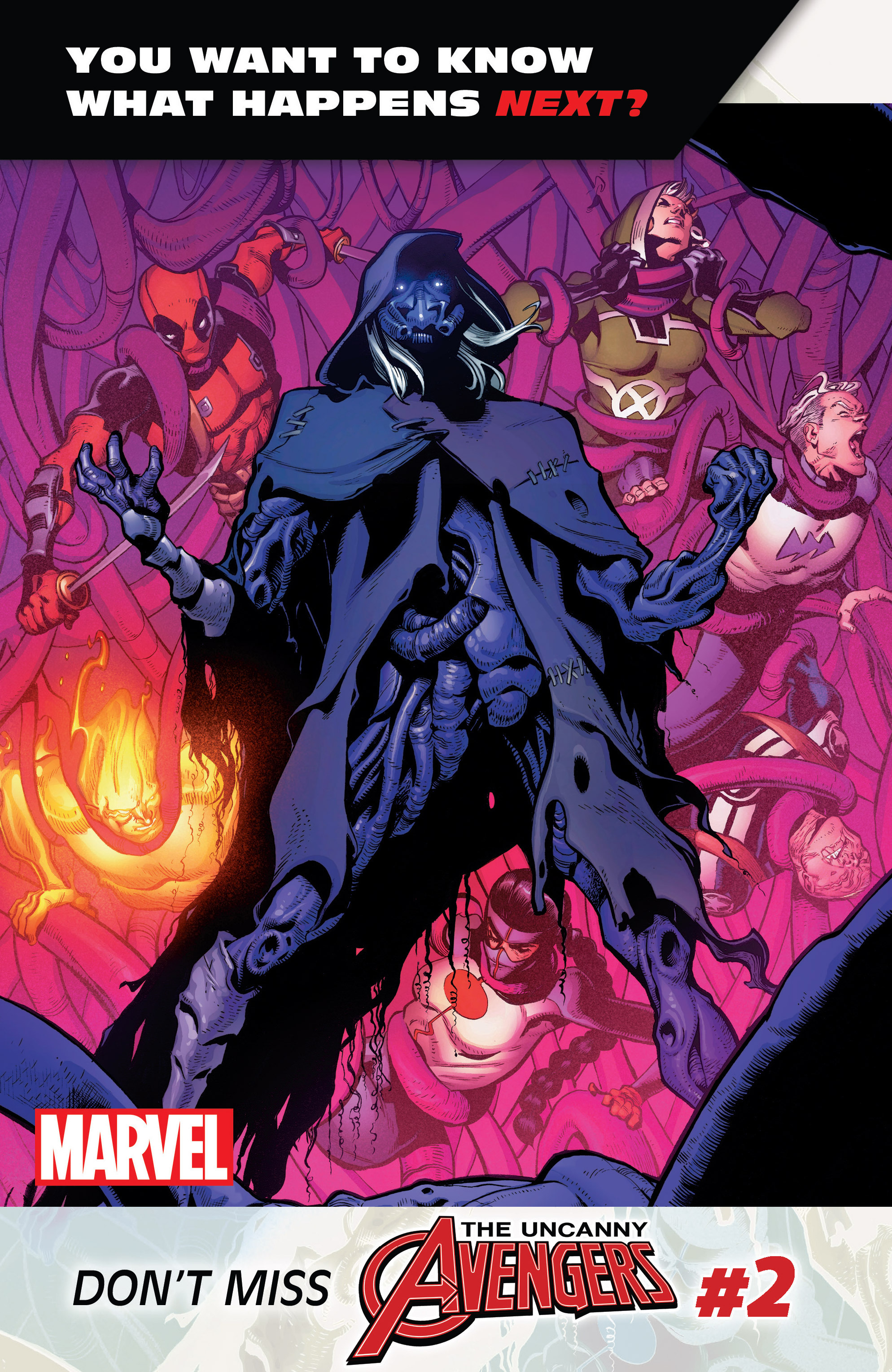 Read online Uncanny Avengers [II] comic -  Issue #1 - 33