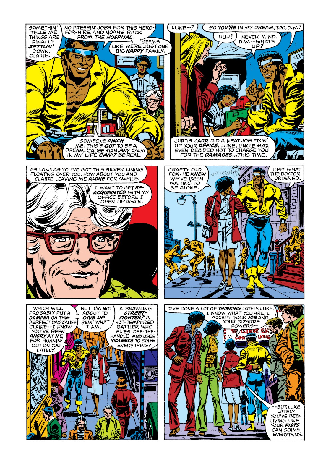 Read online Marvel Masterworks: Luke Cage, Power Man comic -  Issue # TPB 3 (Part 2) - 93