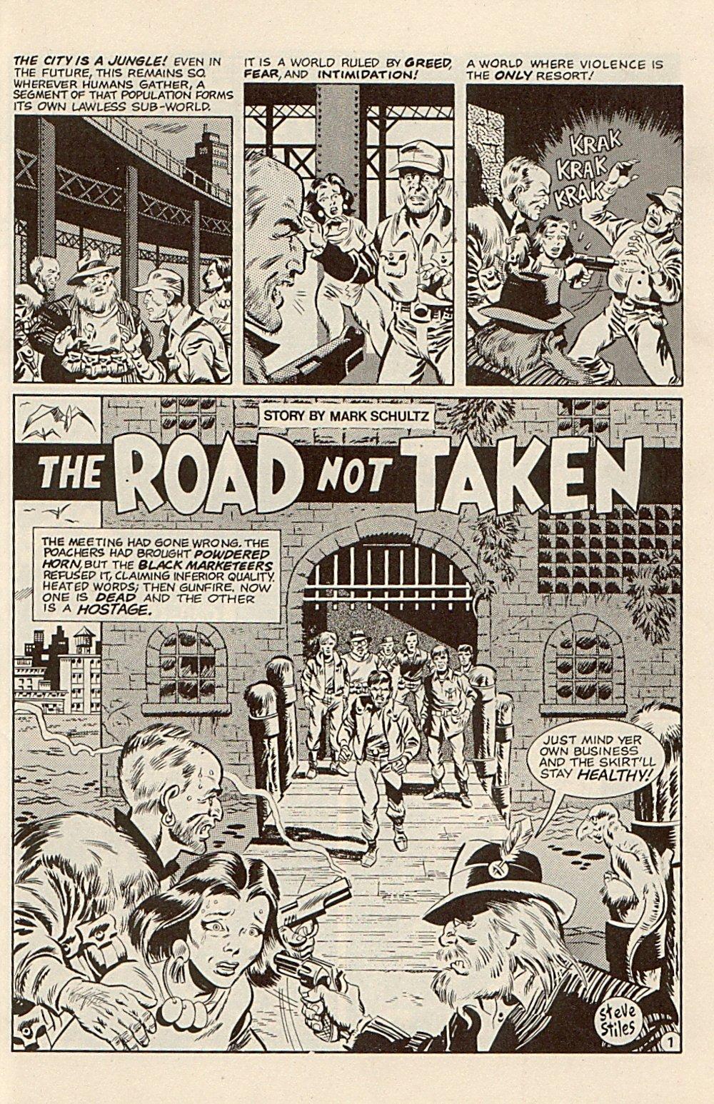 Read online Xenozoic Tales comic -  Issue #3 - 24