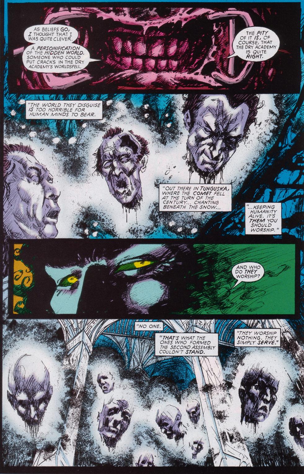 Read online Druid comic -  Issue #3 - 20