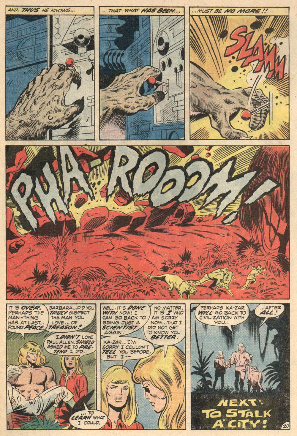 Read online Astonishing Tales (1970) comic -  Issue #13 - 22