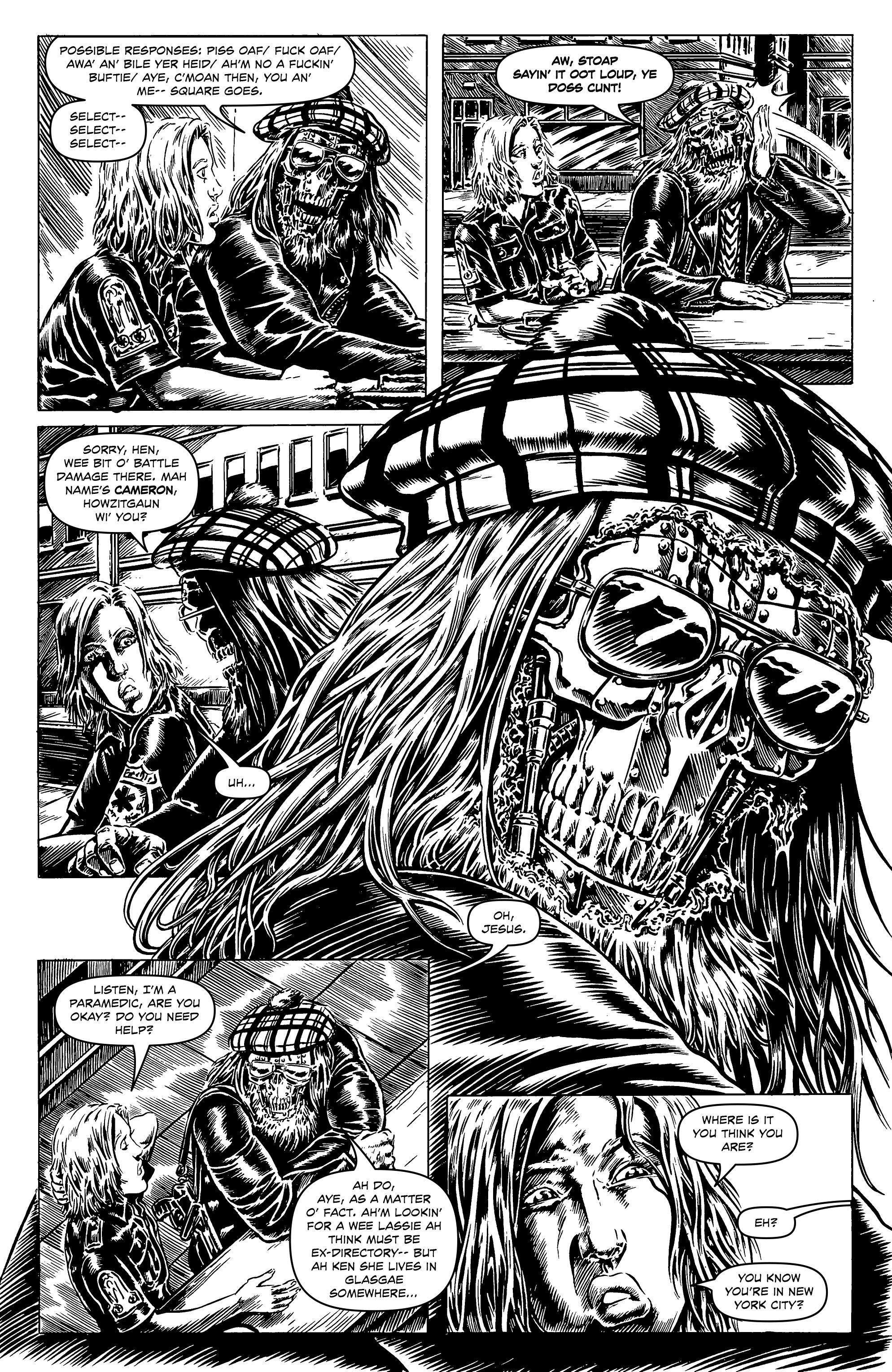 Read online Alan Moore's Cinema Purgatorio comic -  Issue #6 - 20