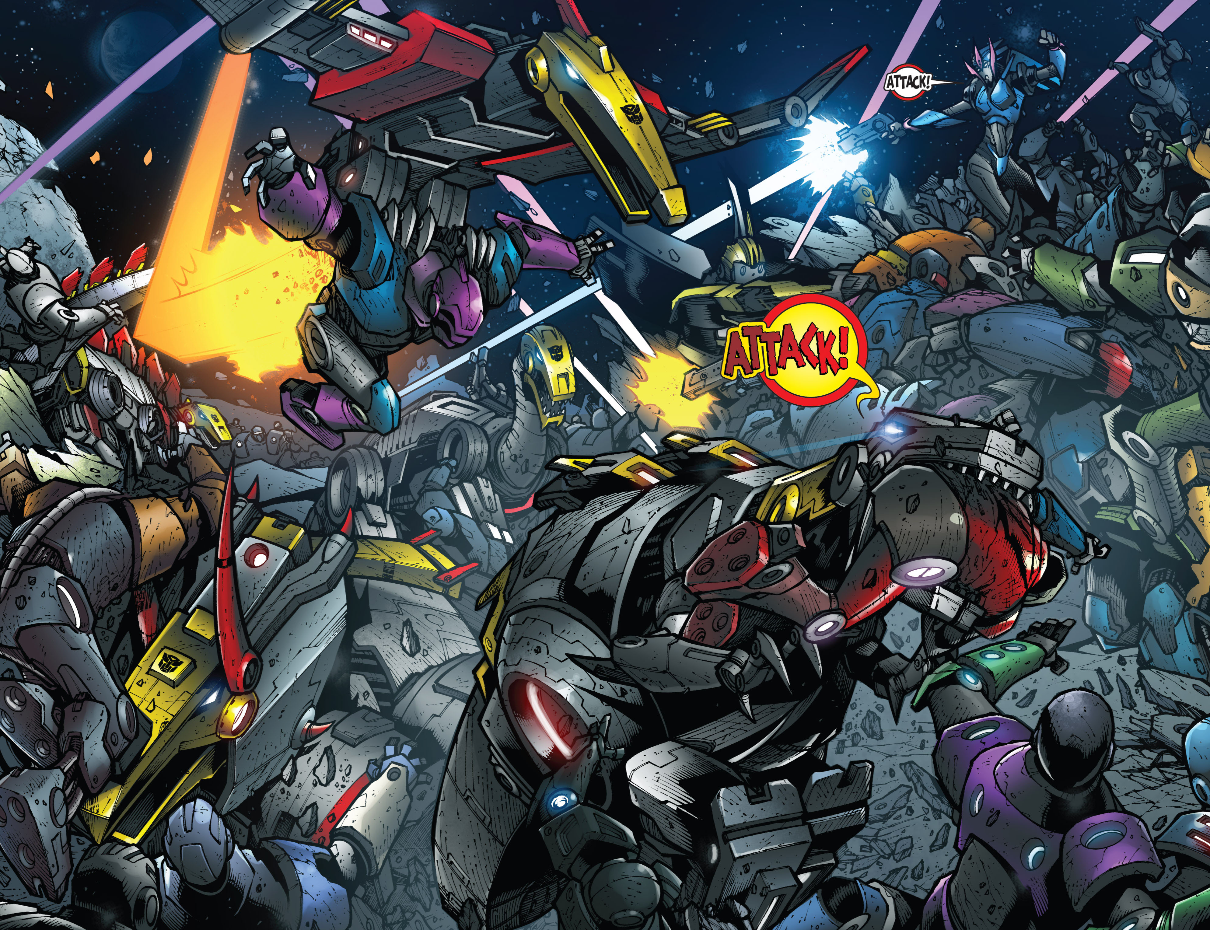 Read online Transformers Prime: Beast Hunters comic -  Issue #8 - 4