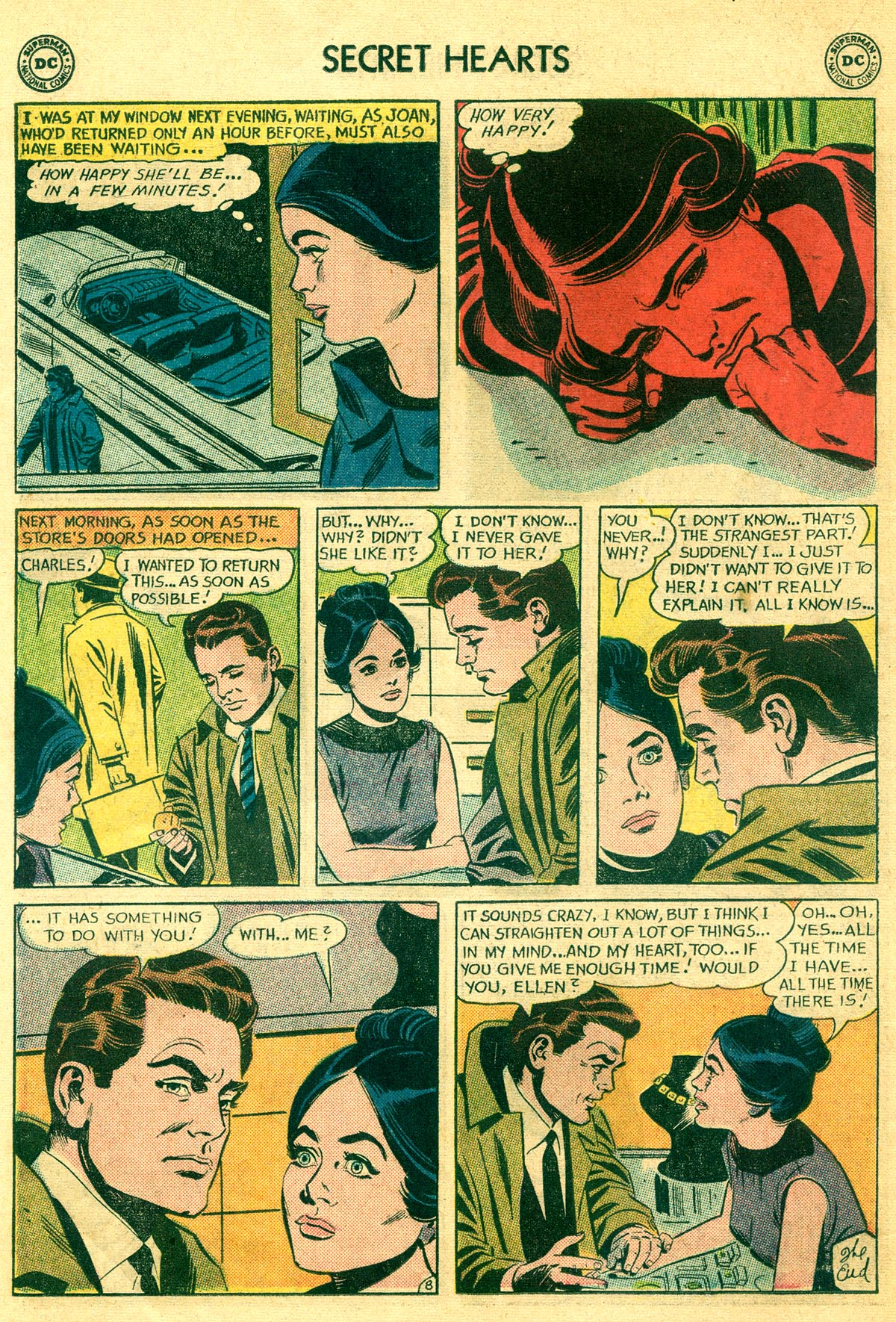 Read online Secret Hearts comic -  Issue #81 - 18