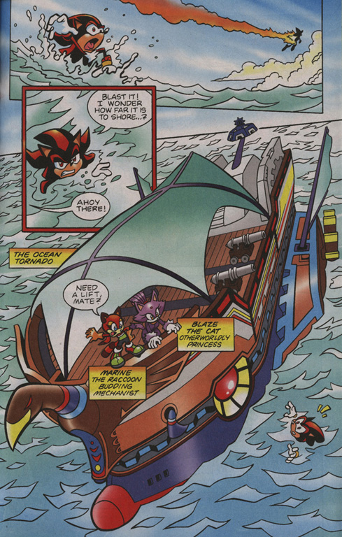 Read online Sonic Universe comic -  Issue #1 - 4