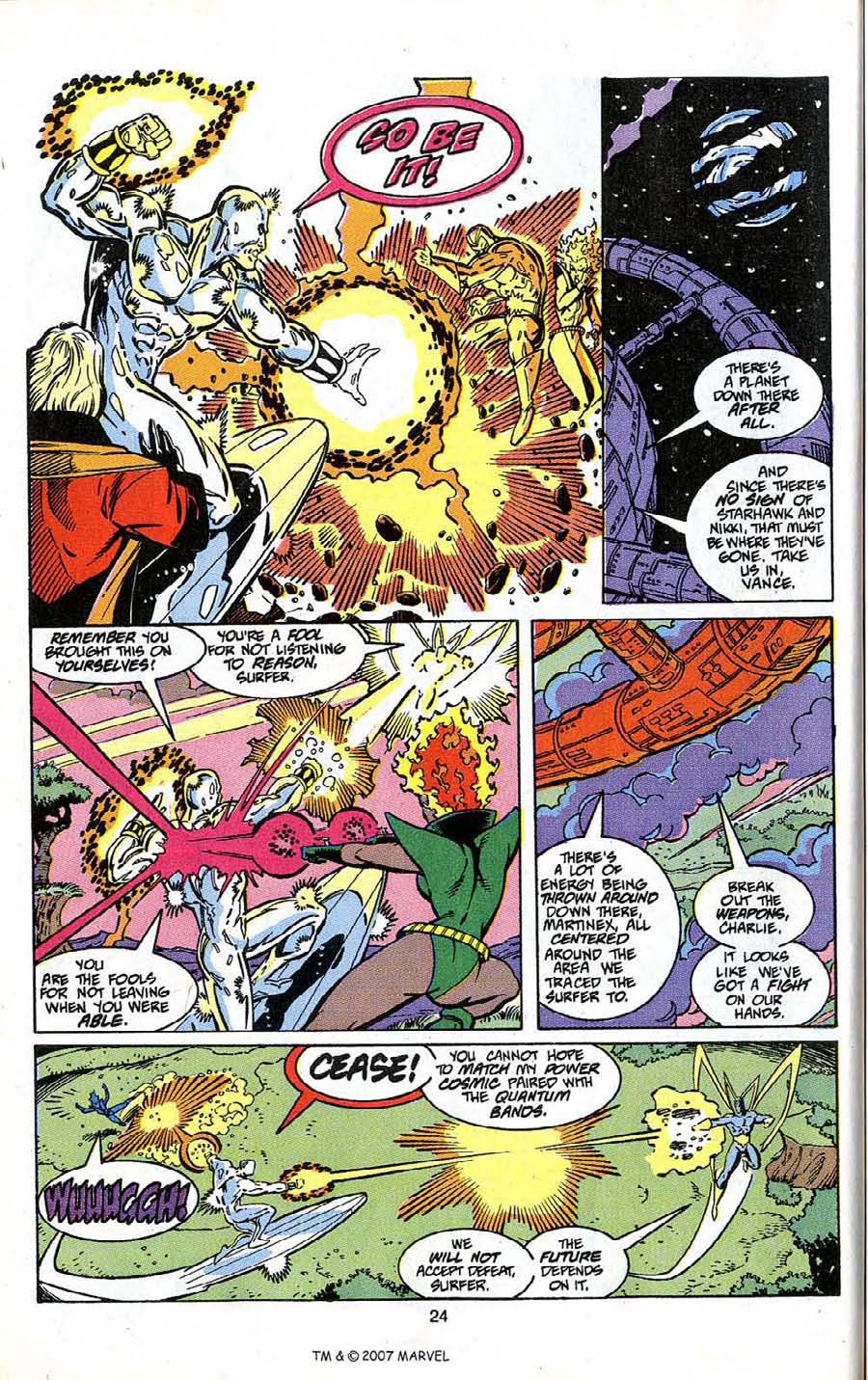 Read online Silver Surfer (1987) comic -  Issue # _Annual 4 - 26