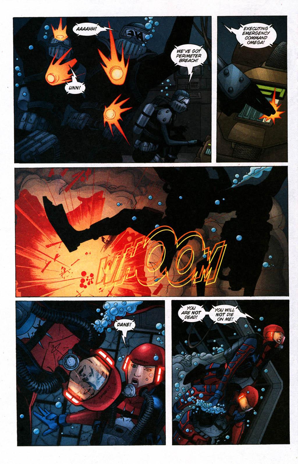 Read online Aquaman (2003) comic -  Issue #24 - 19
