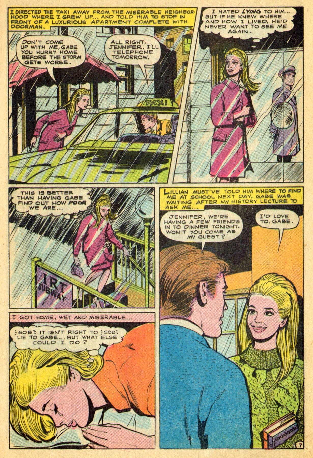 Read online Secret Hearts comic -  Issue #134 - 9