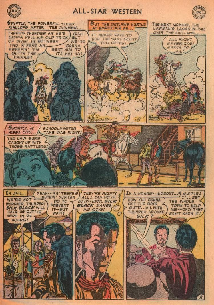 Read online All-Star Western (1951) comic -  Issue #87 - 5