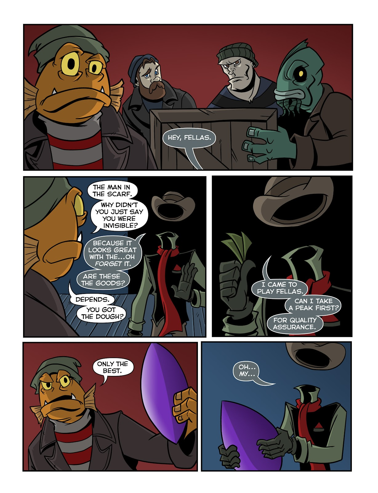 Read online The Haunter comic -  Issue #2 - 5