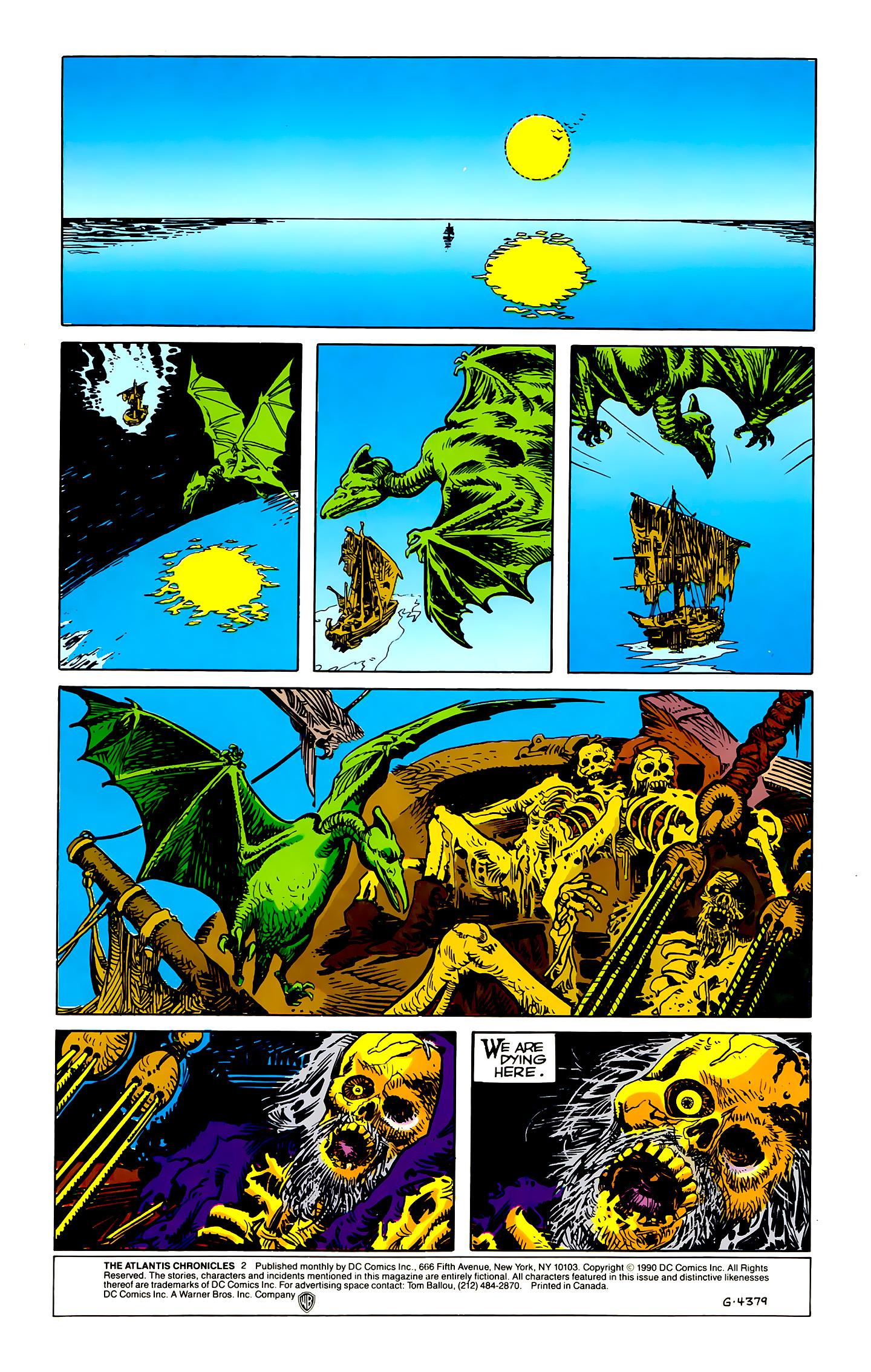 Read online Atlantis Chronicles comic -  Issue #2 - 2