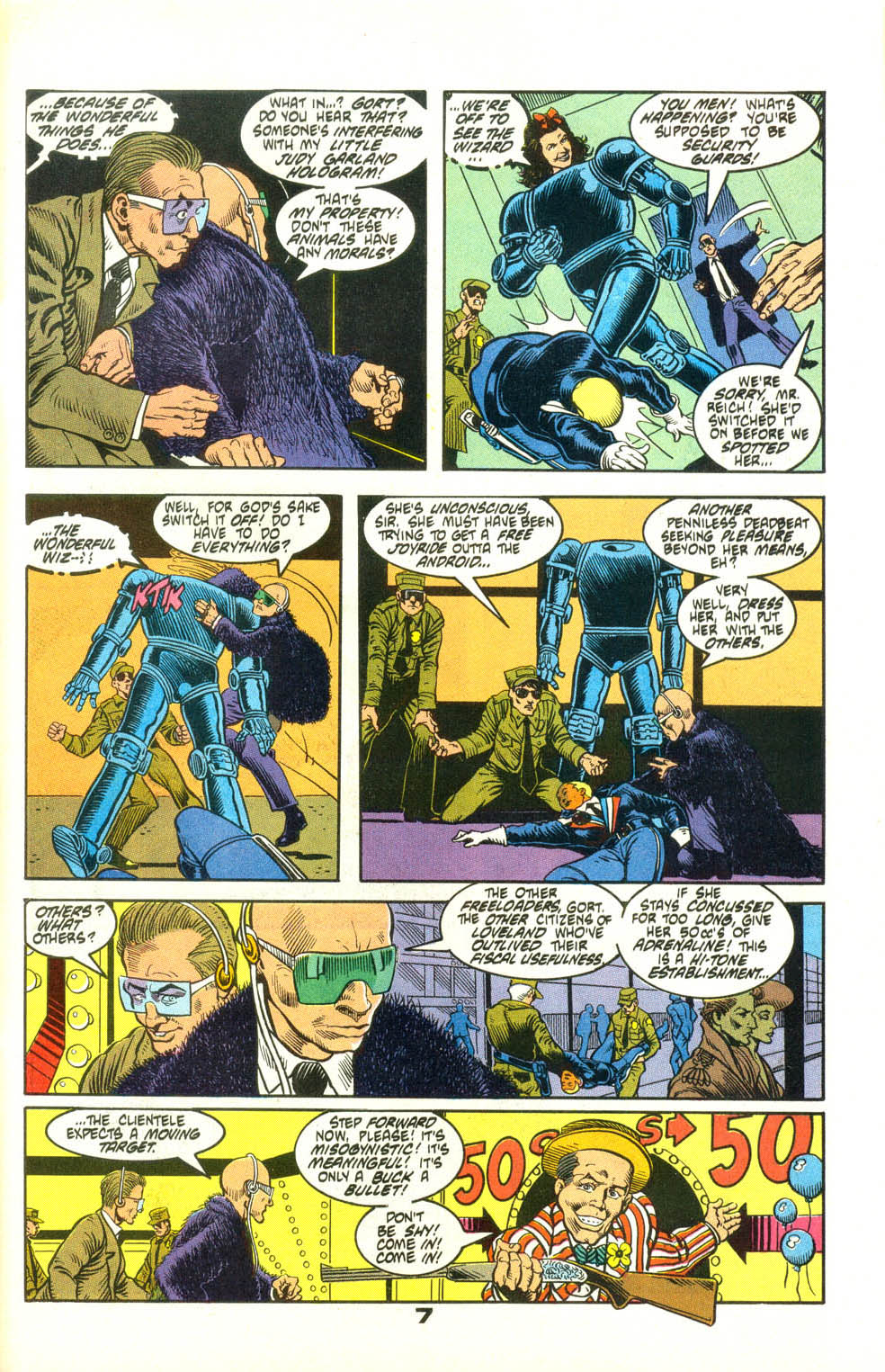 Read online American Flagg! comic -  Issue #25 - 30