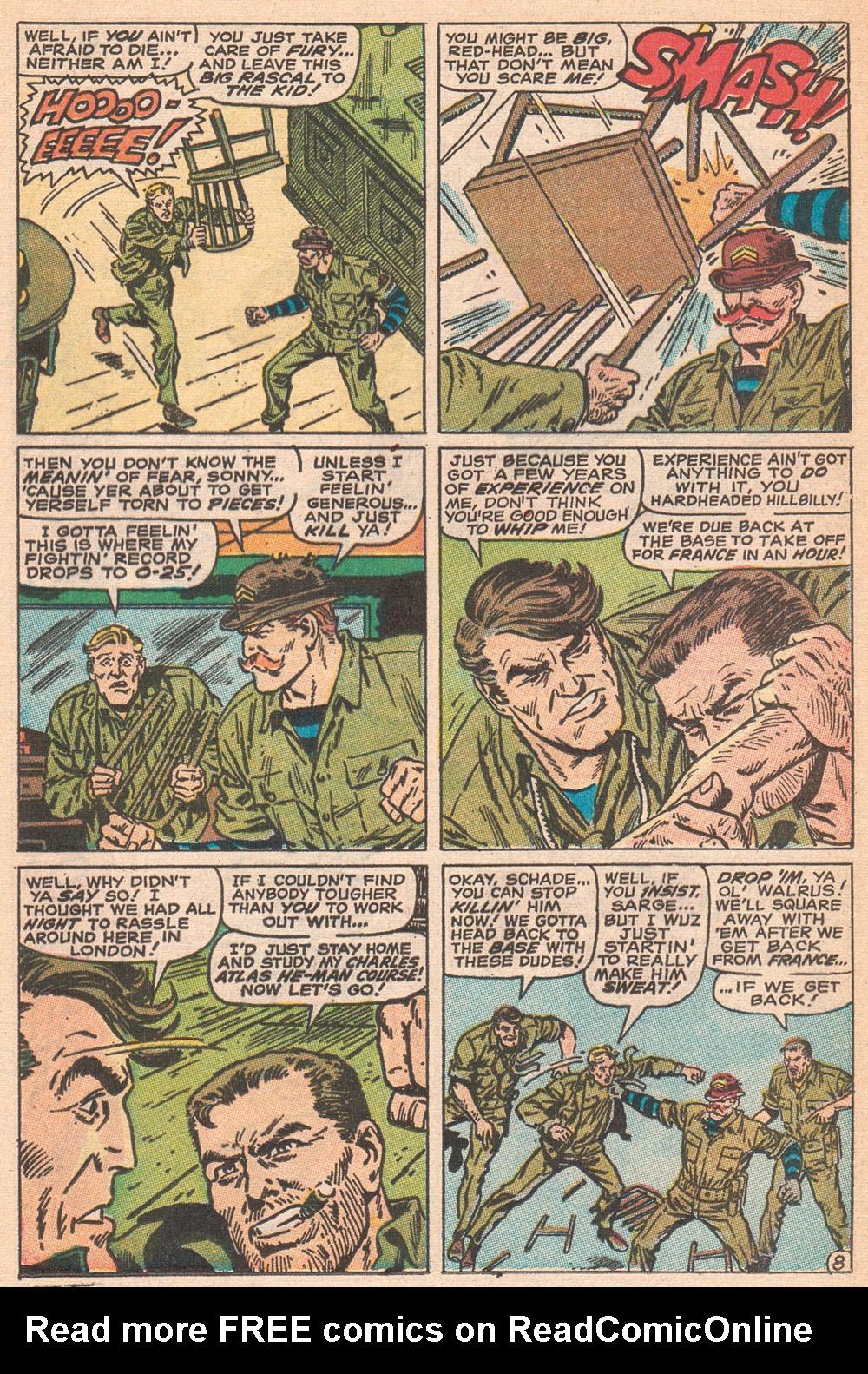 Read online Sgt. Fury comic -  Issue #70 - 13