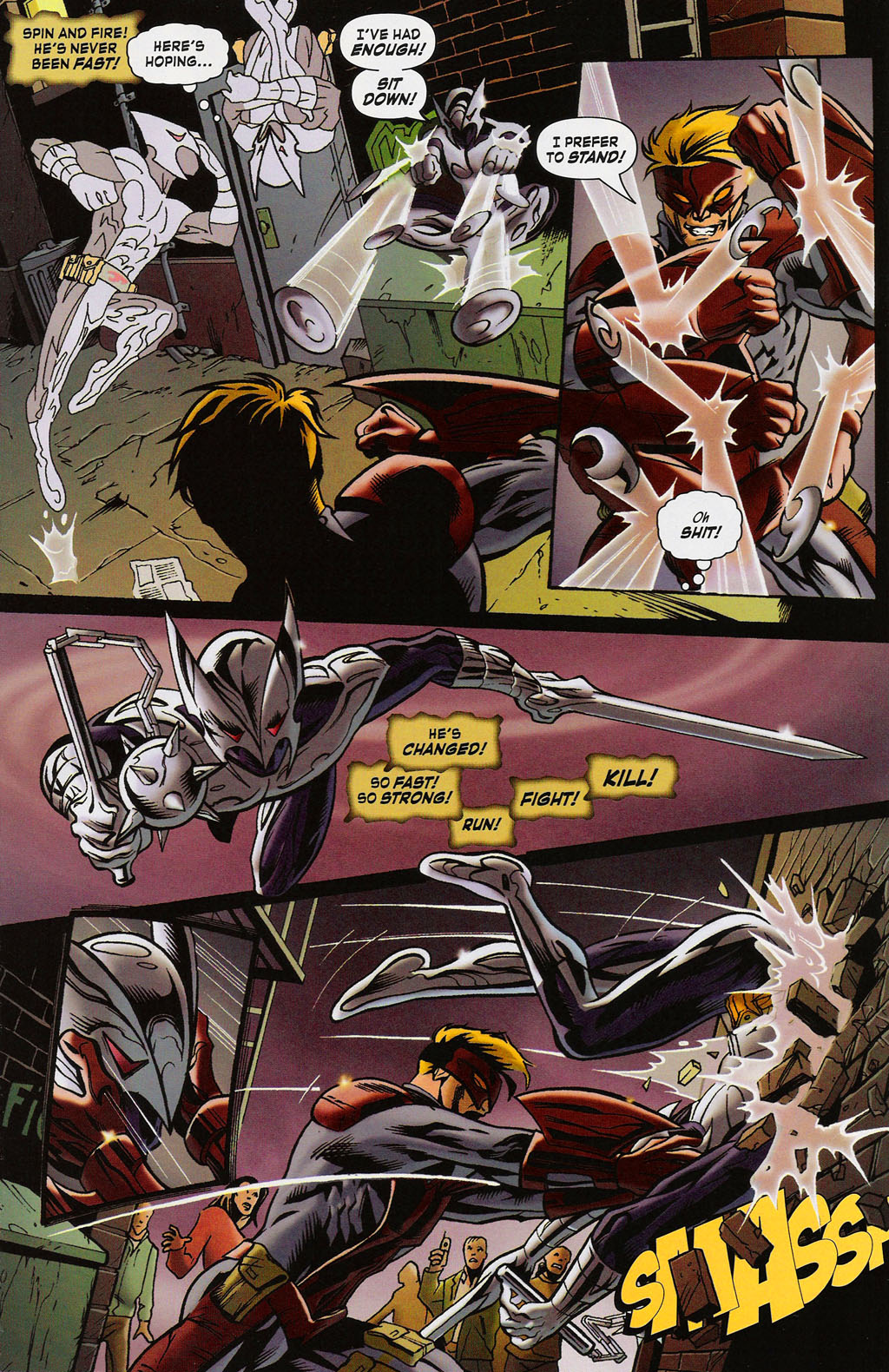 Read online ShadowHawk (2005) comic -  Issue #4 - 5