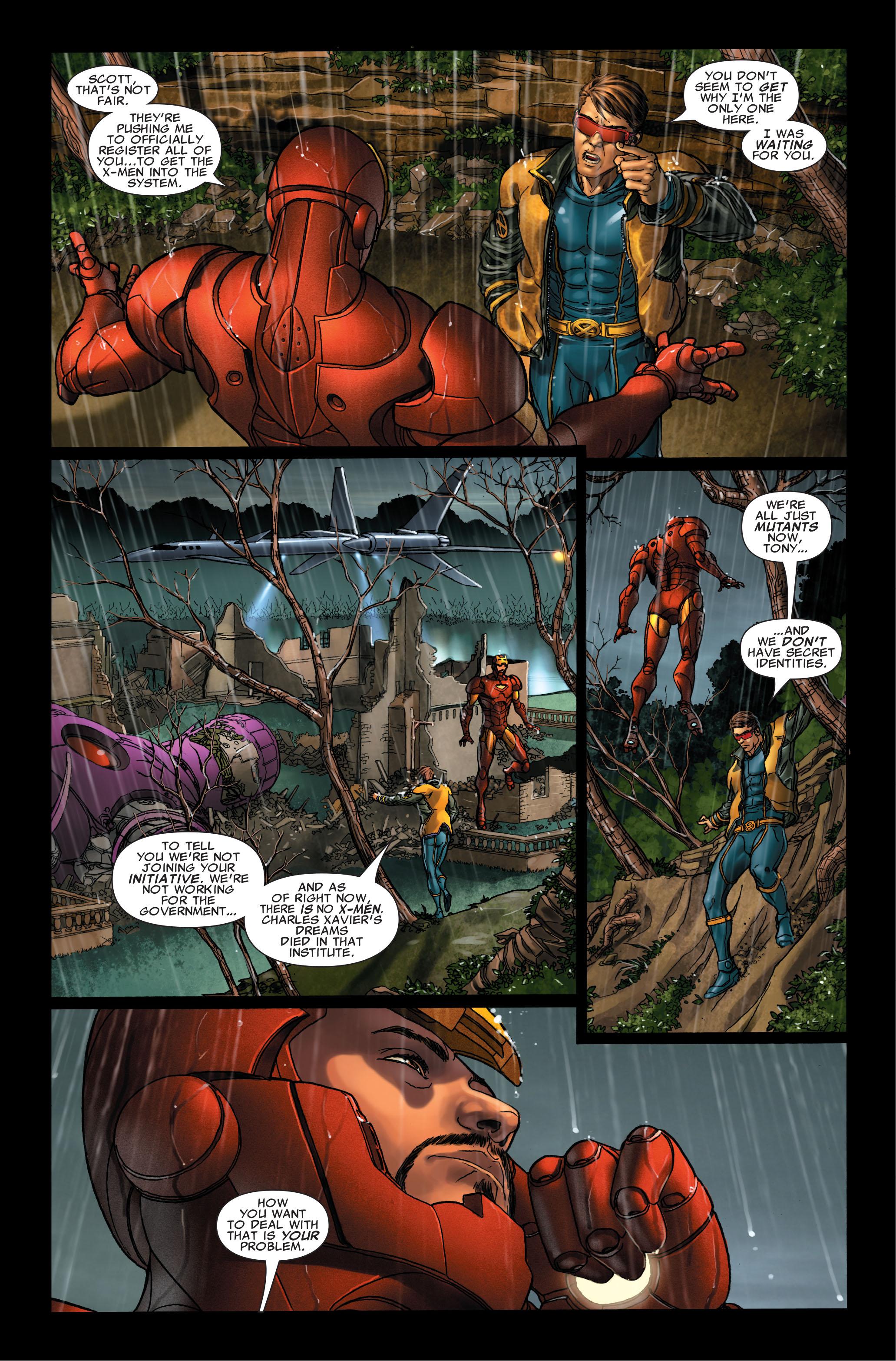 Read online Uncanny X-Men (1963) comic -  Issue #495 - 9
