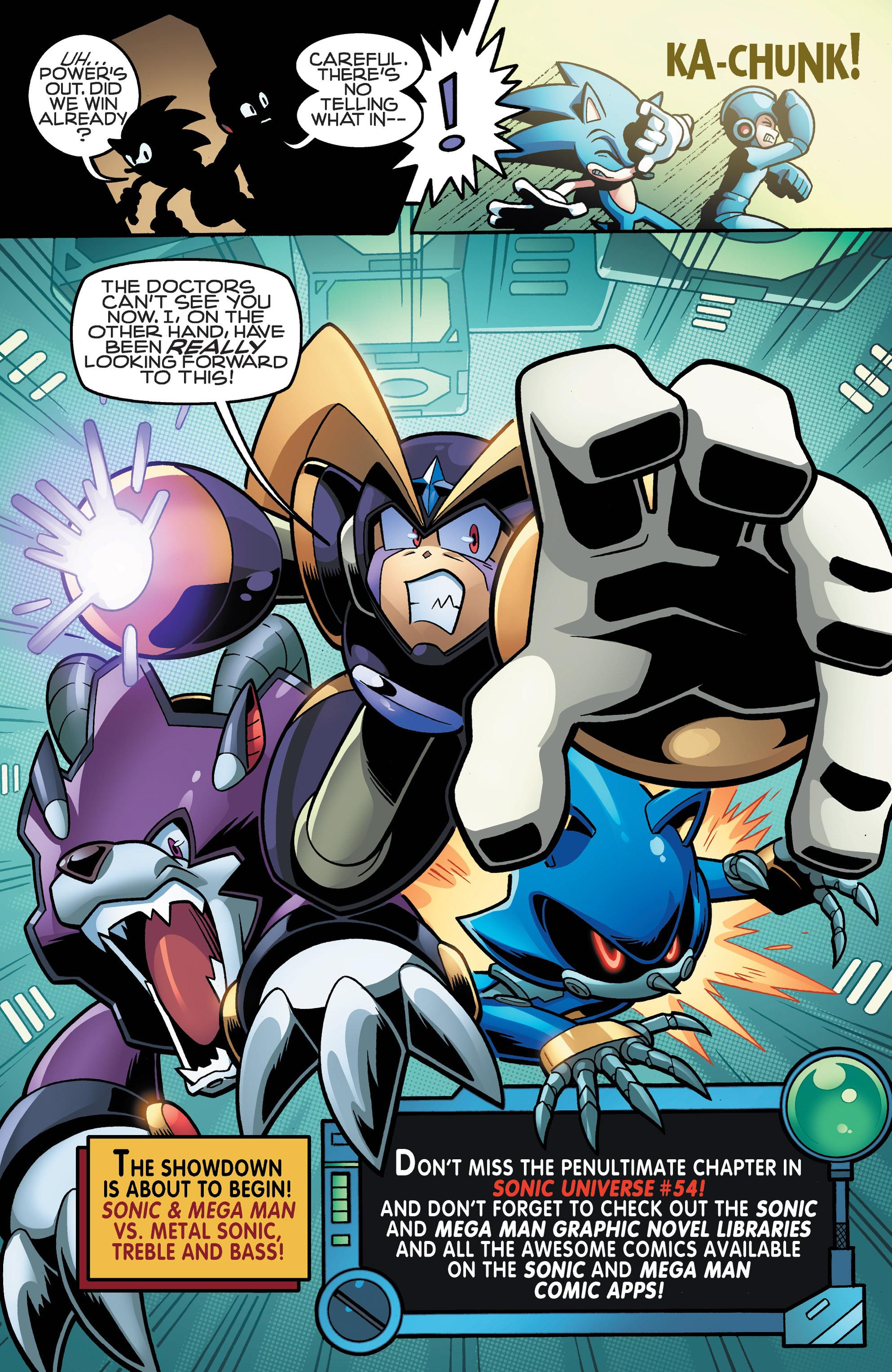 Read online Sonic Mega Man Worlds Collide comic -  Issue # Vol 3 - 68