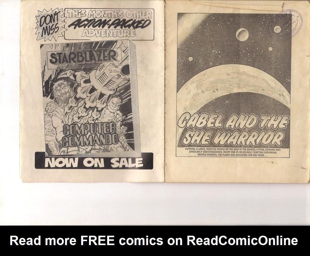 Starblazer issue 194 - Page 2