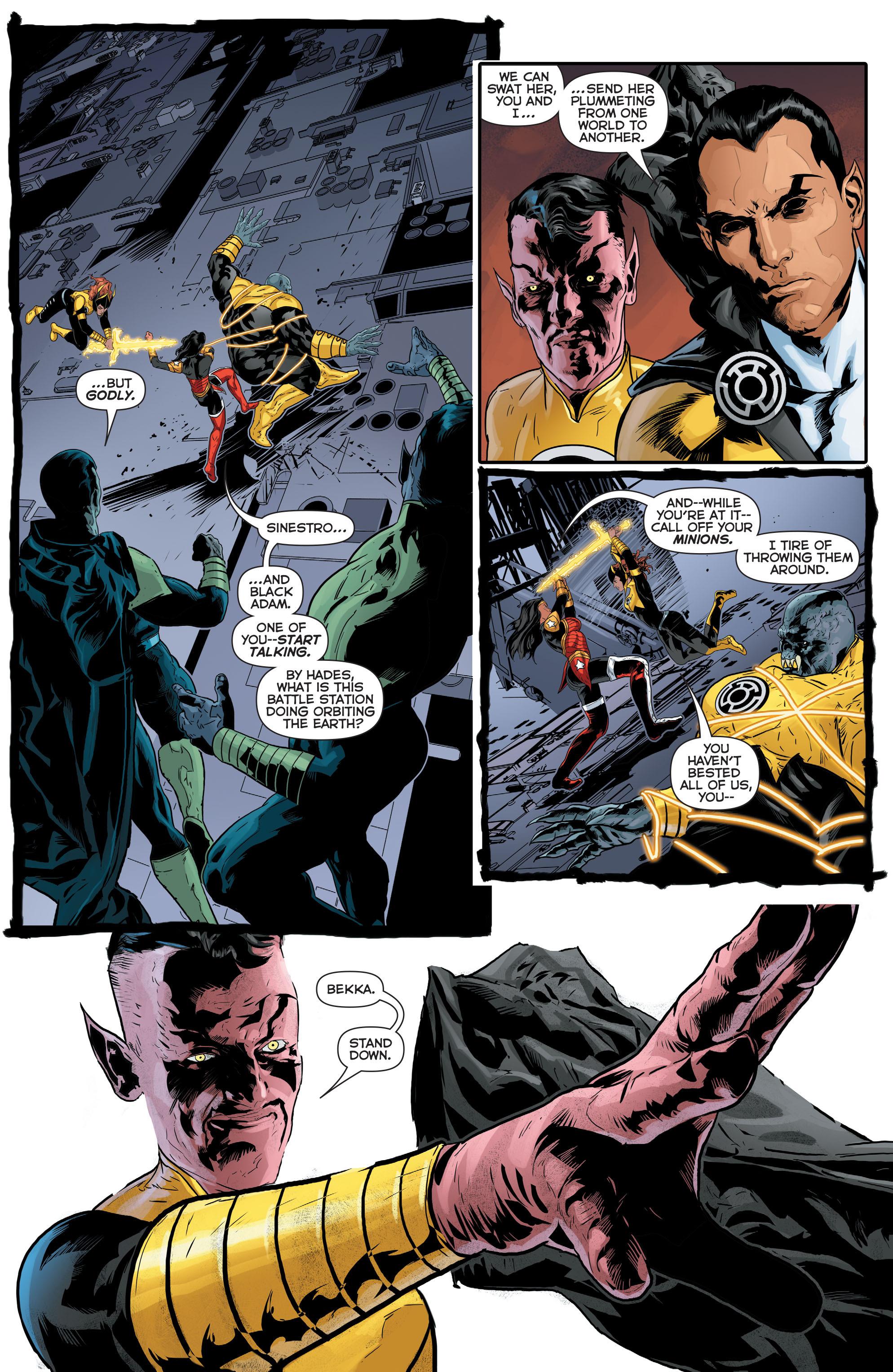Read online Sinestro comic -  Issue #17 - 18