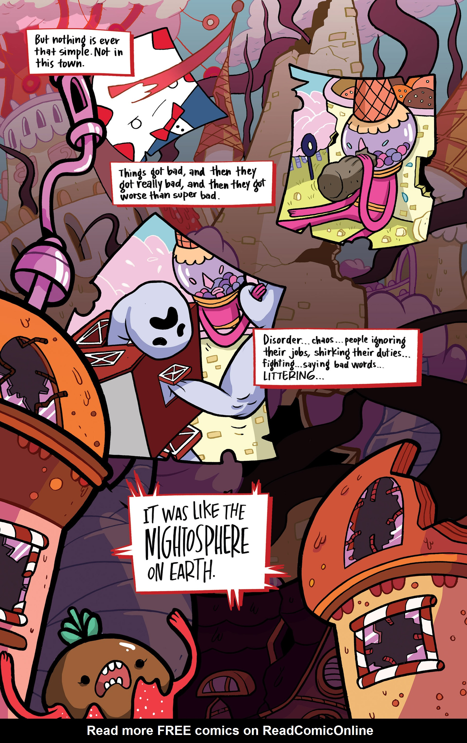 Read online Adventure Time: Candy Capers comic -  Issue #1 - 15