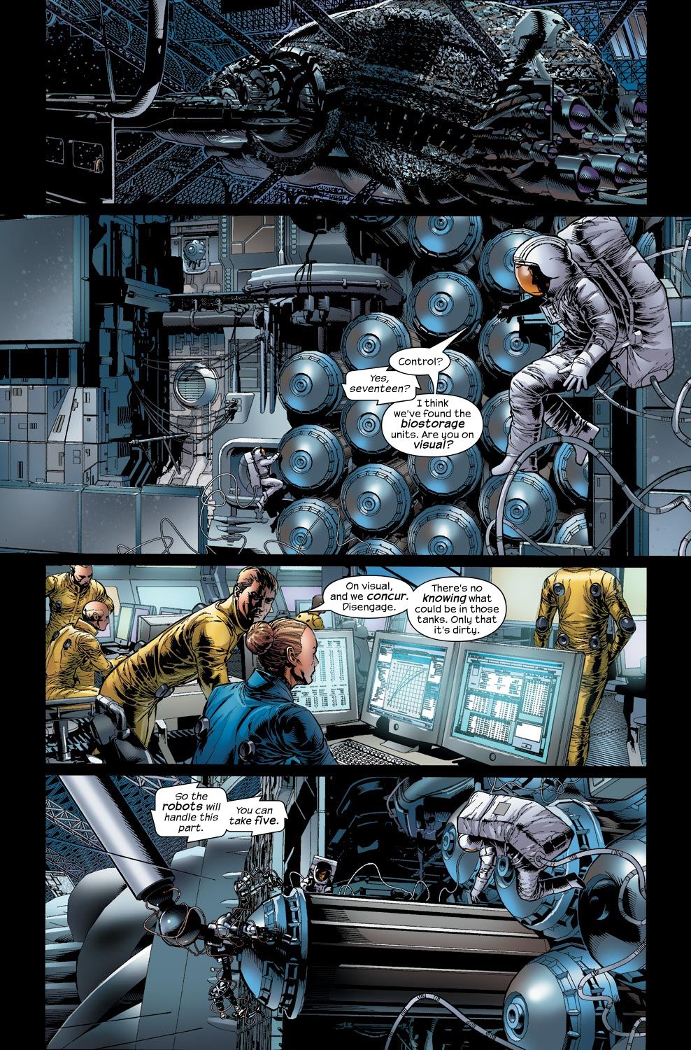 Read online Ultimate Vision comic -  Issue #2 - 11