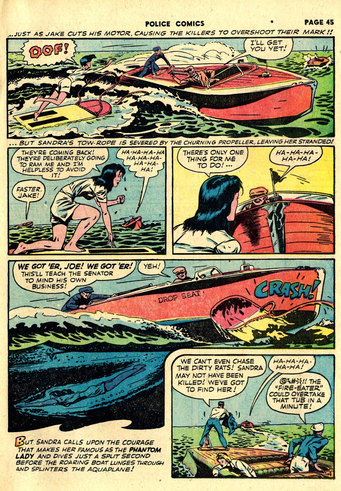 Police Comics issue 19 - Page 47
