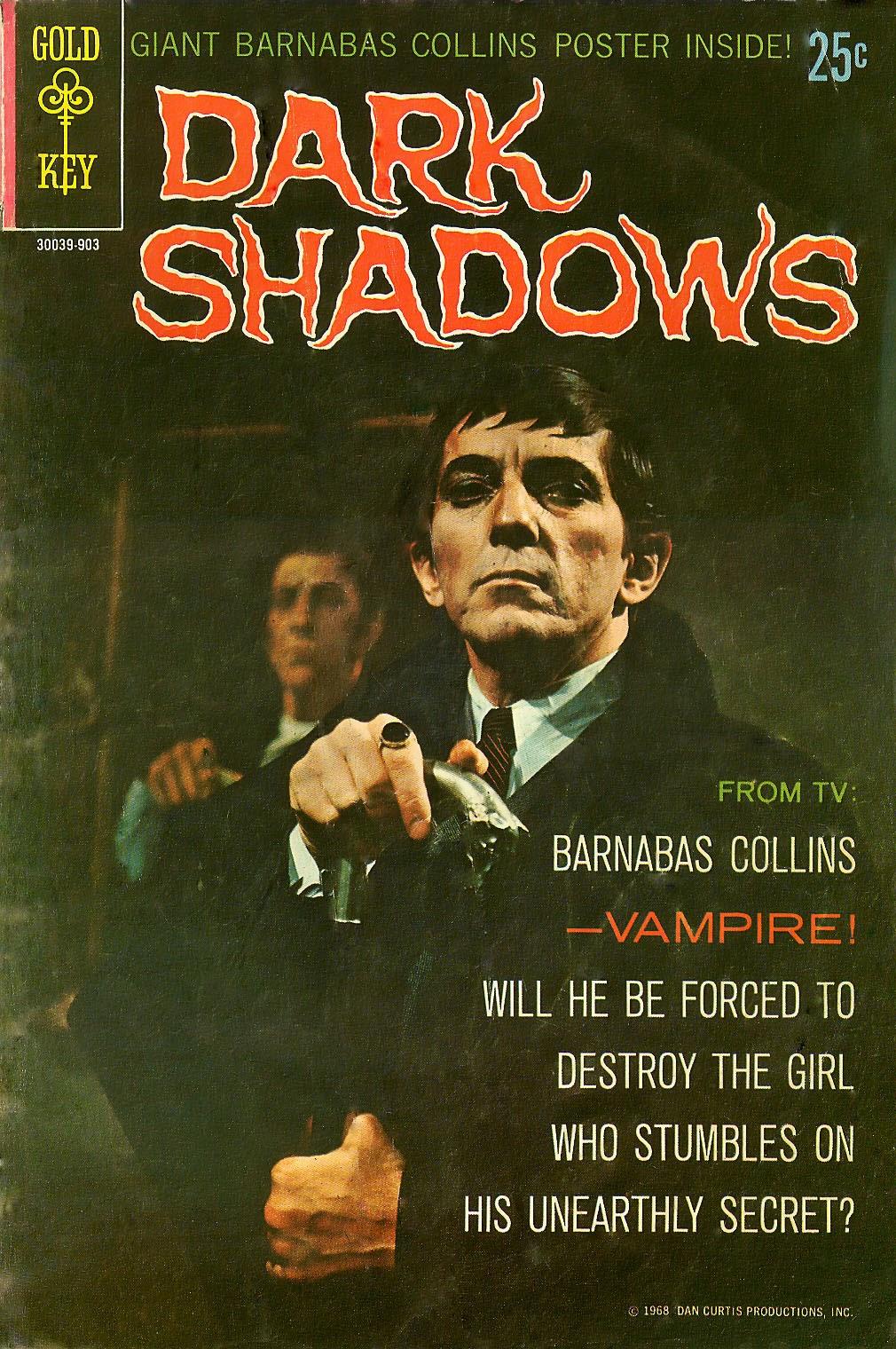 Dark Shadows (1969) 1 Page 1