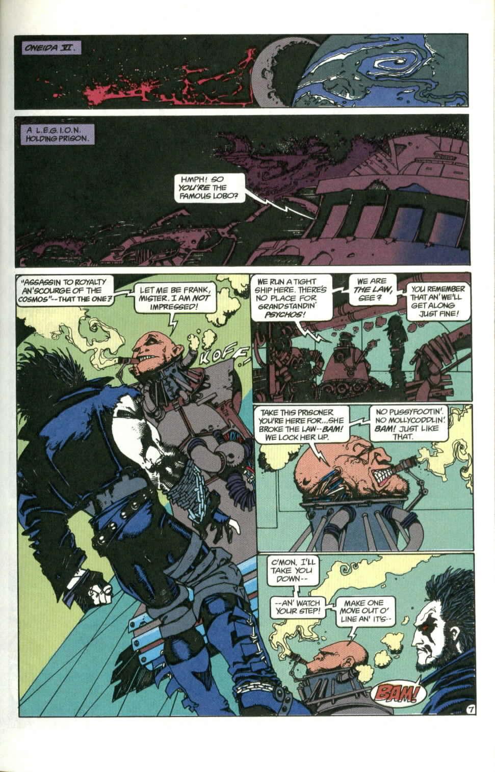 Read online Lobo (1990) comic -  Issue #1 - 8