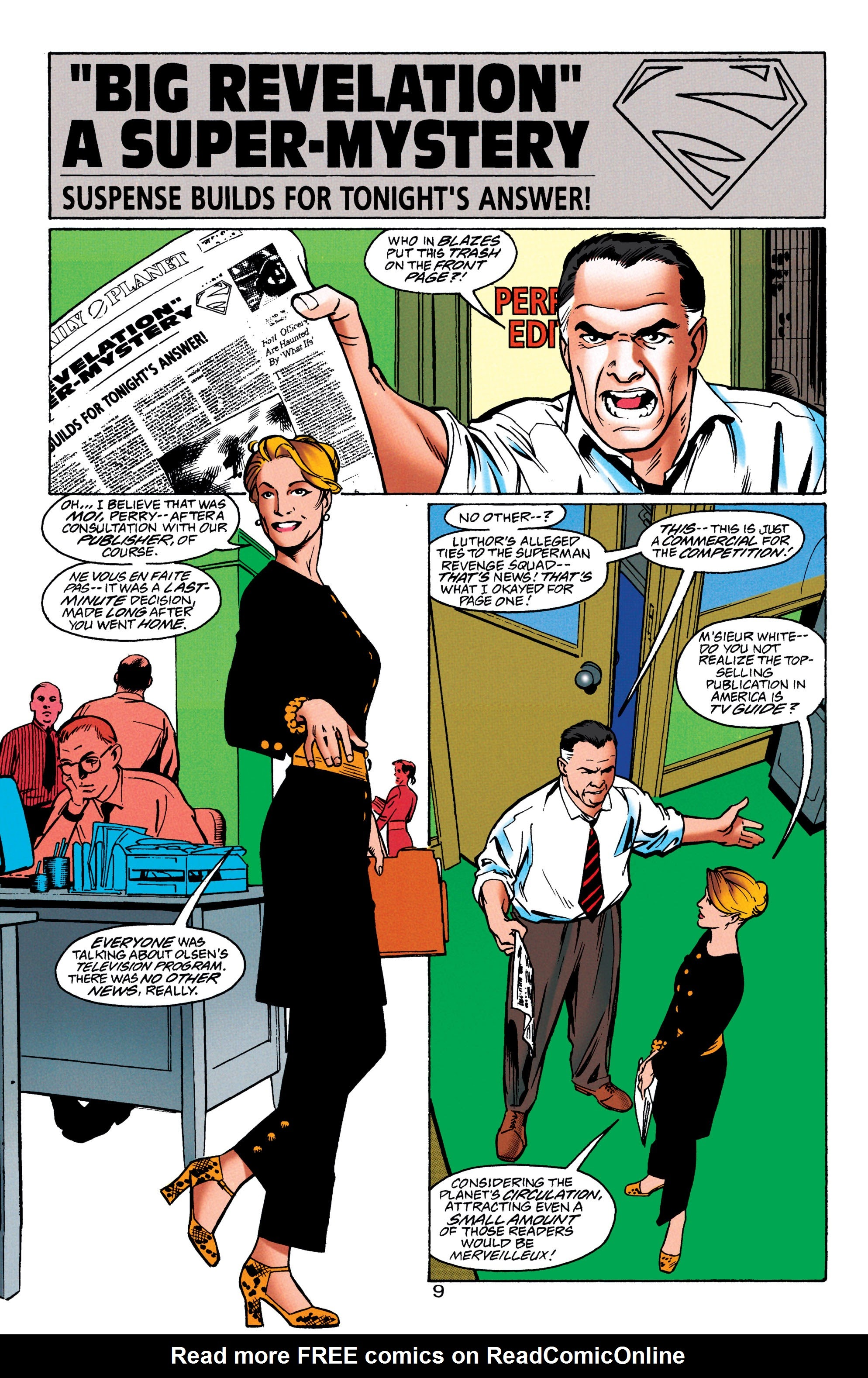 Adventures of Superman (1987) issue 550 - Page 10