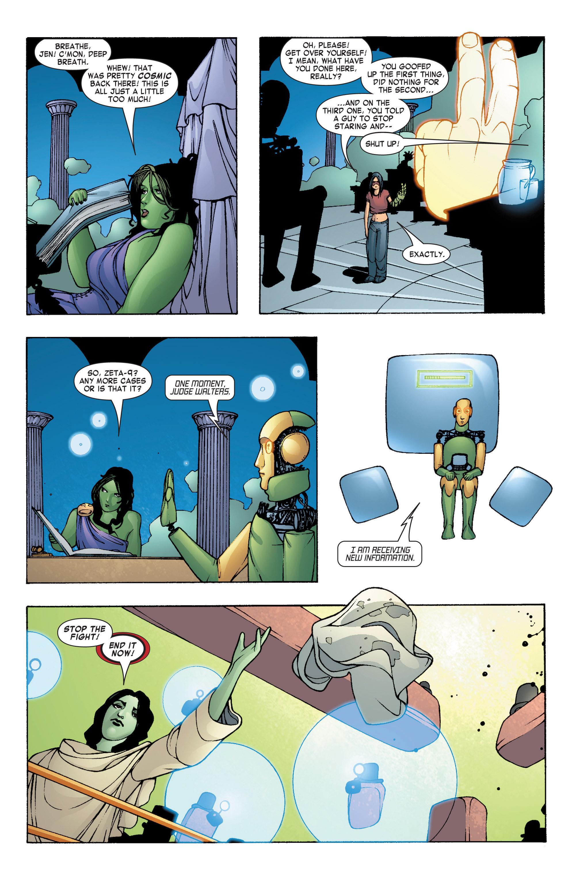 Read online She-Hulk (2004) comic -  Issue #7 - 22