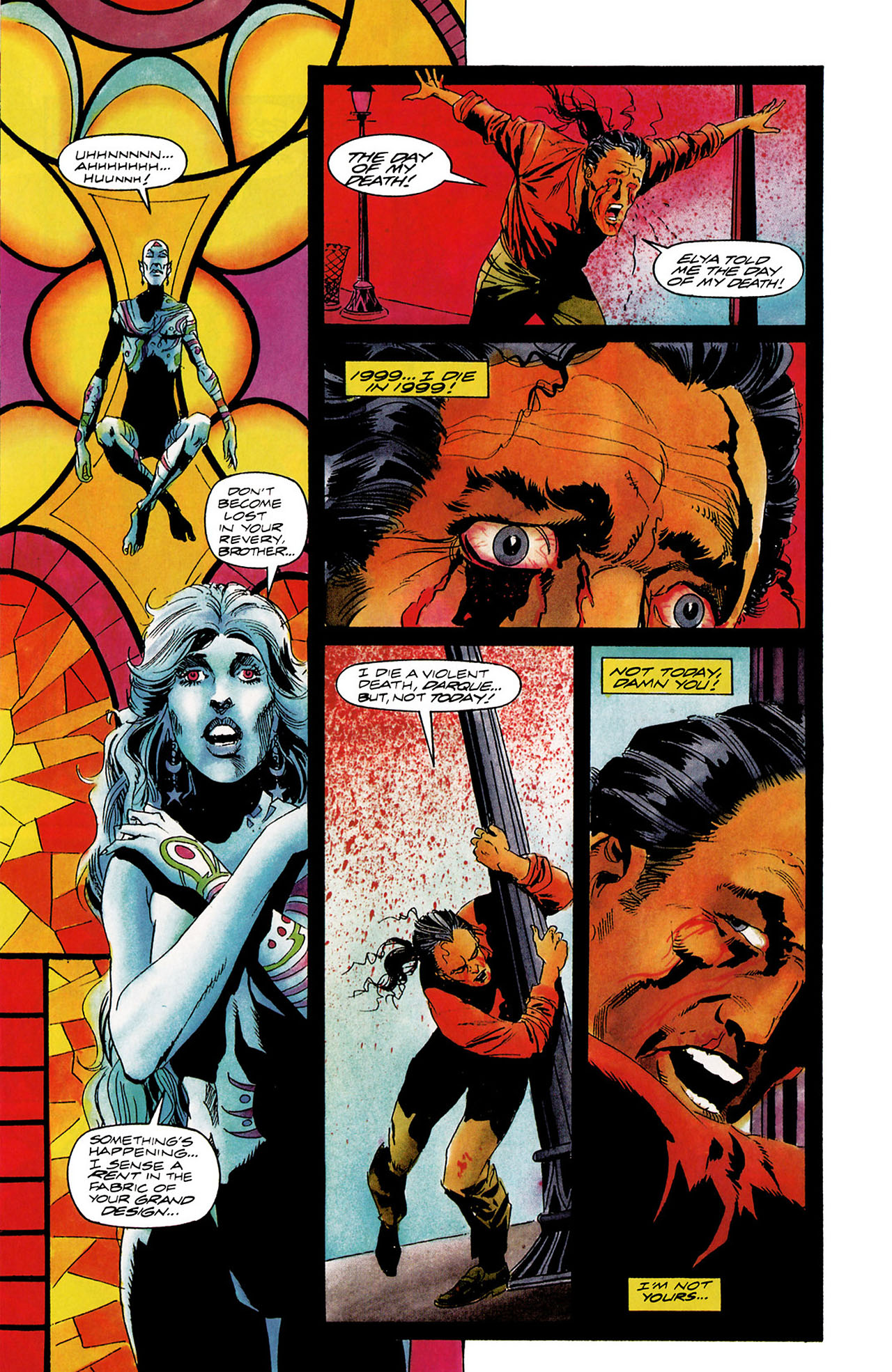 Read online Shadowman (1992) comic -  Issue #12 - 7