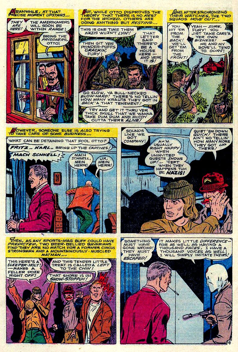 Read online Sgt. Fury comic -  Issue #84 - 20