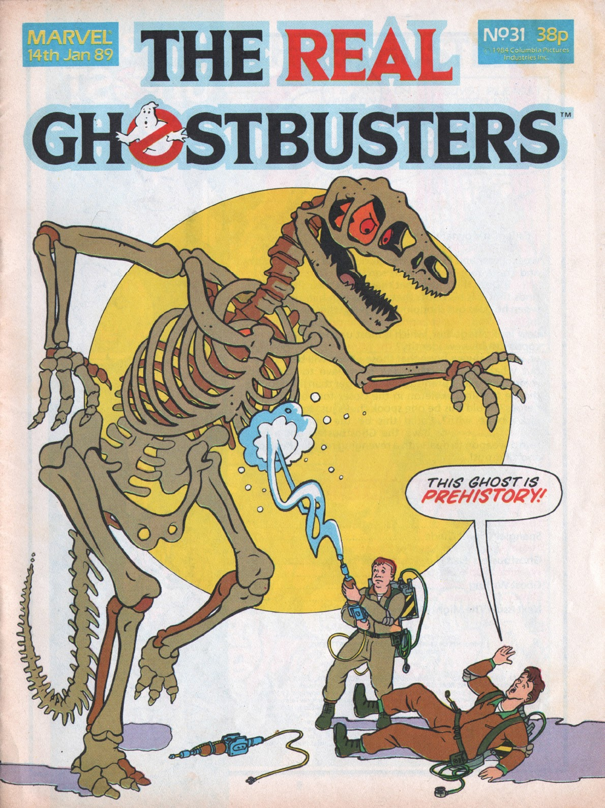 The Real Ghostbusters 31 Page 1