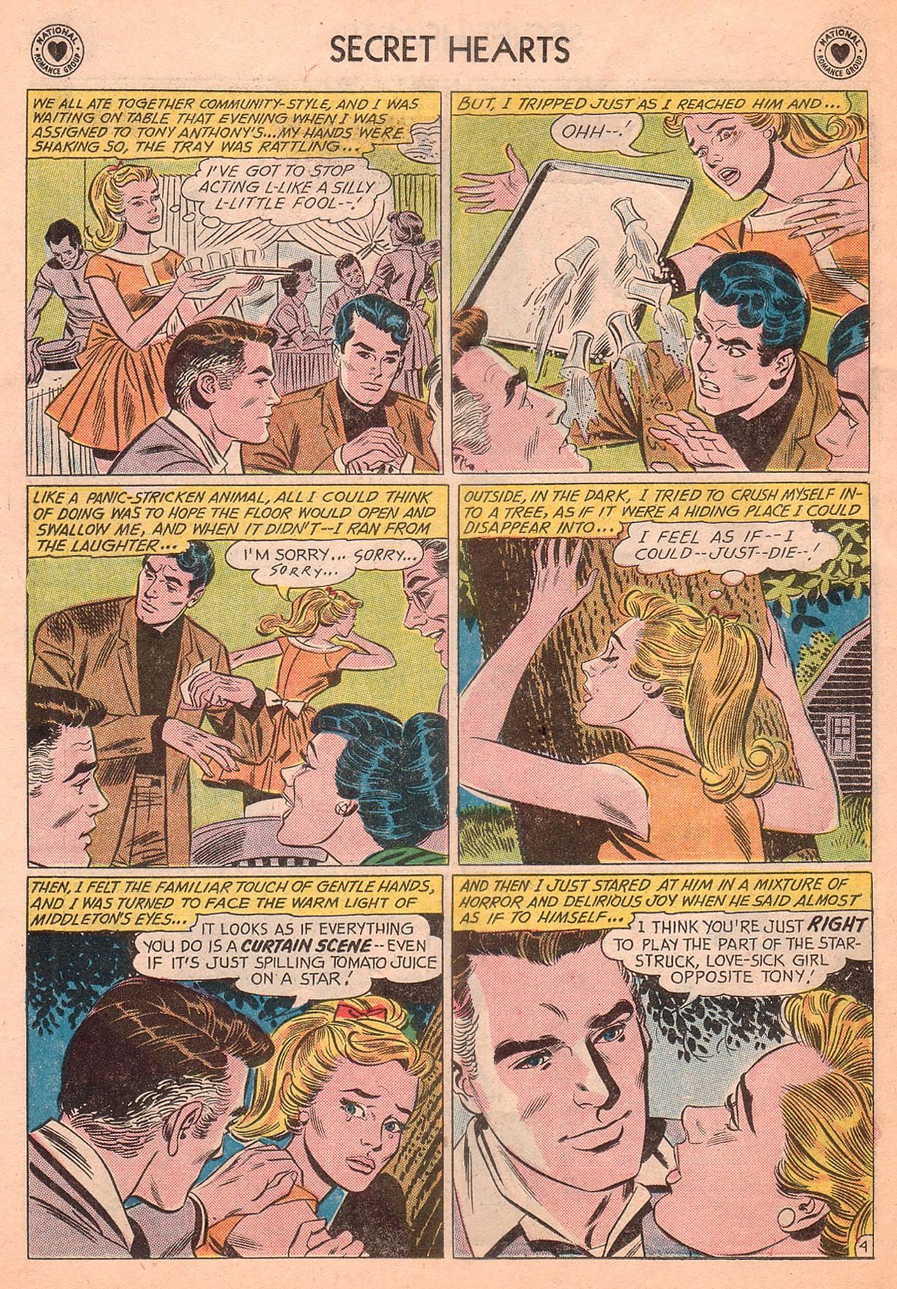 Read online Secret Hearts comic -  Issue #77 - 30